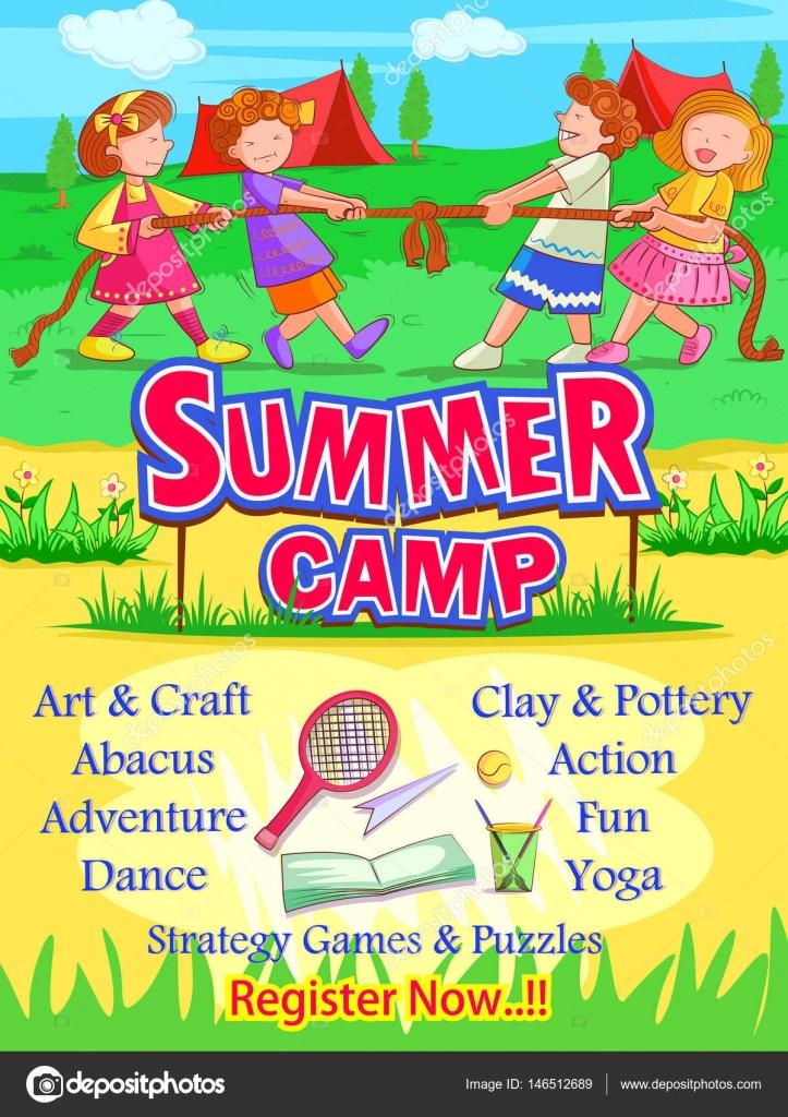 summer camp poster design wwwpixsharkcom images