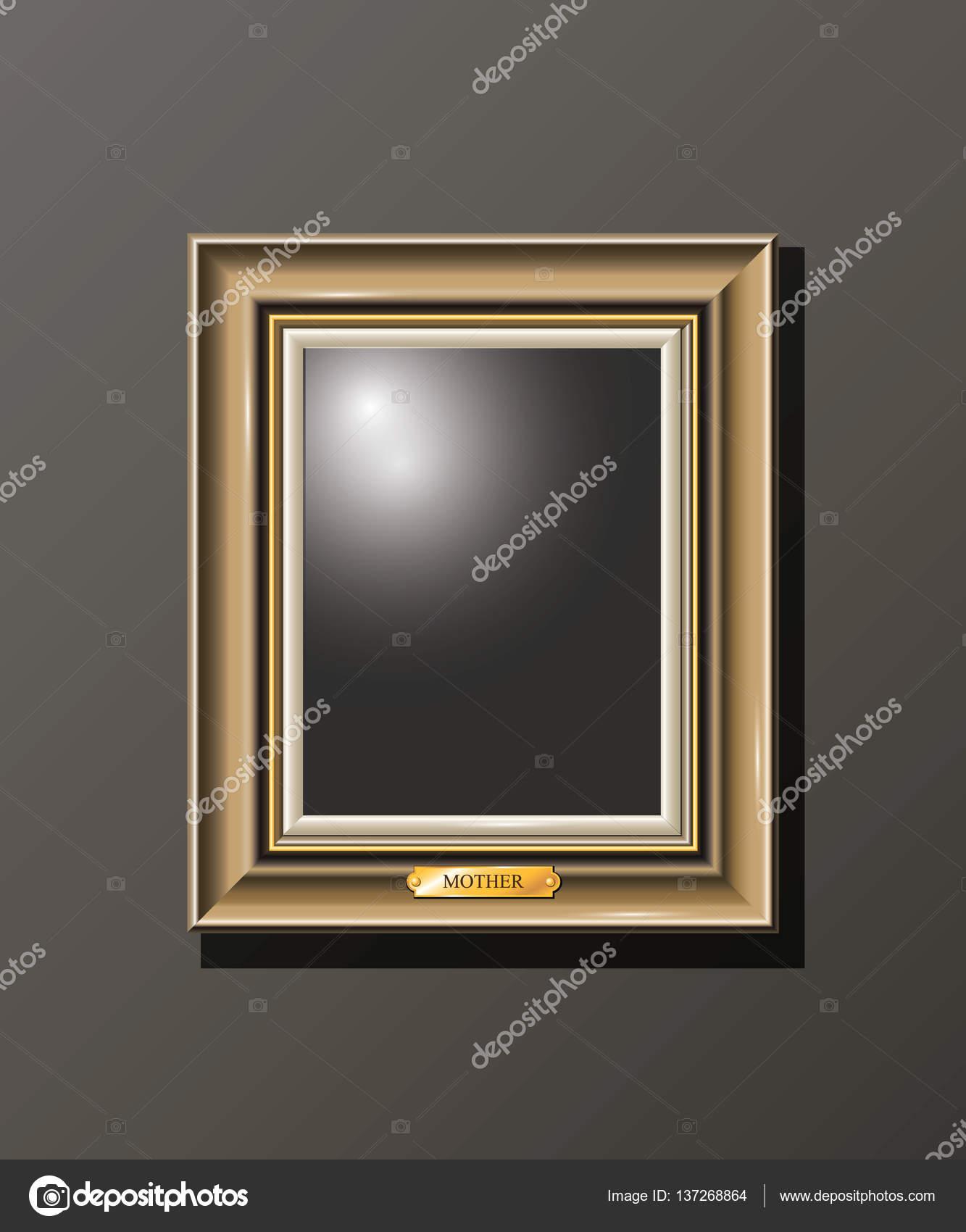 Leer, Rahmen an der Wand — Stockvektor © Valart717 #137268864