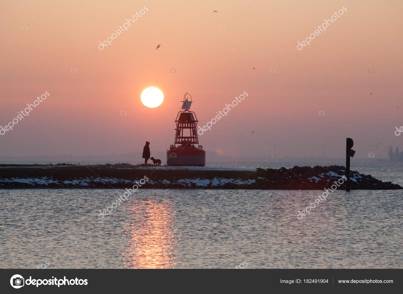Leuchtturm landzunge aalsmeer niederlande stockfoto for 2533 raumgestaltung und entwerfen