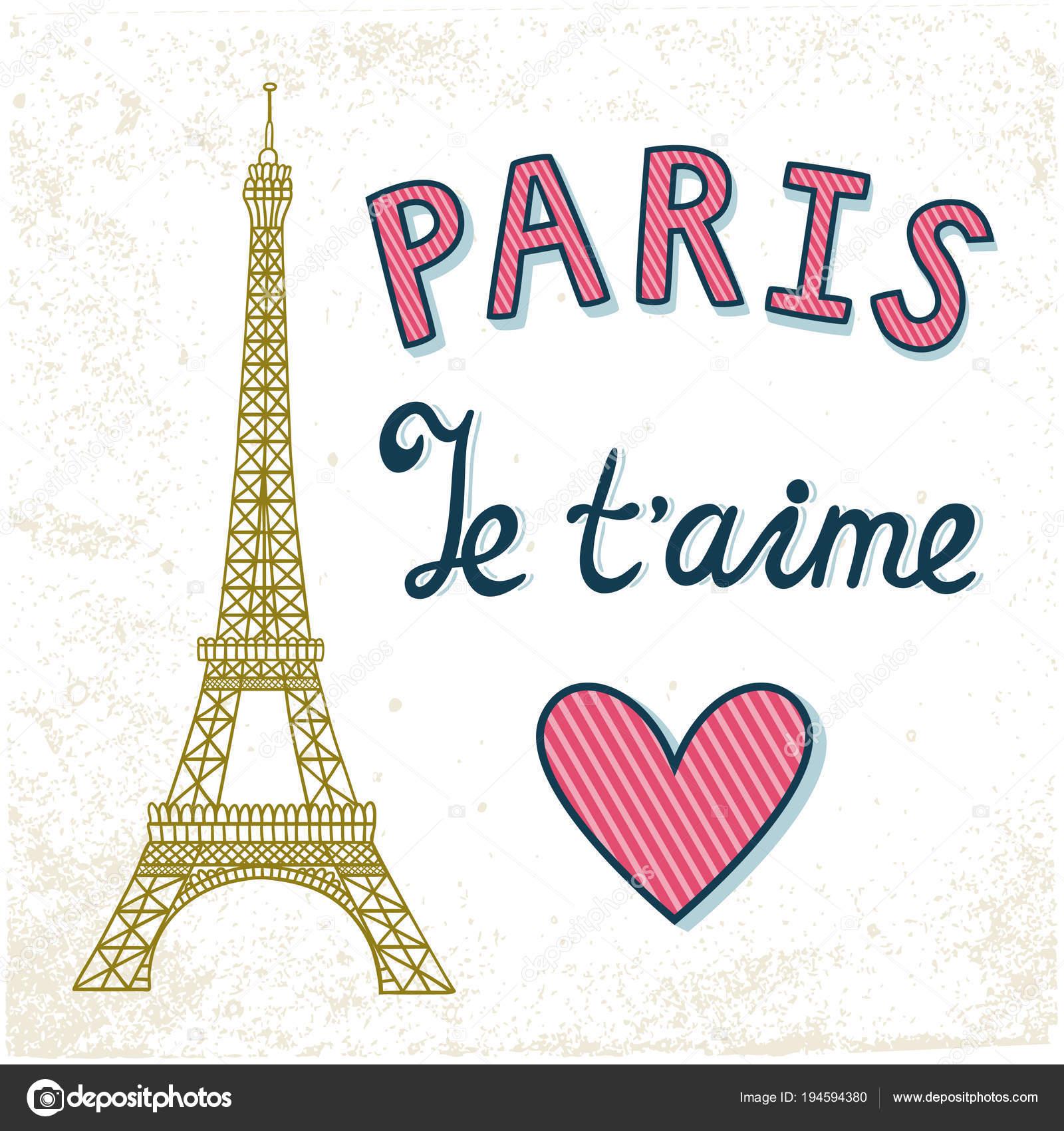 Imágenes La Torre Eiffel Con Frases De Amor Añada La