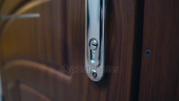 Sicherheitsschleuse Eingang zum Haus