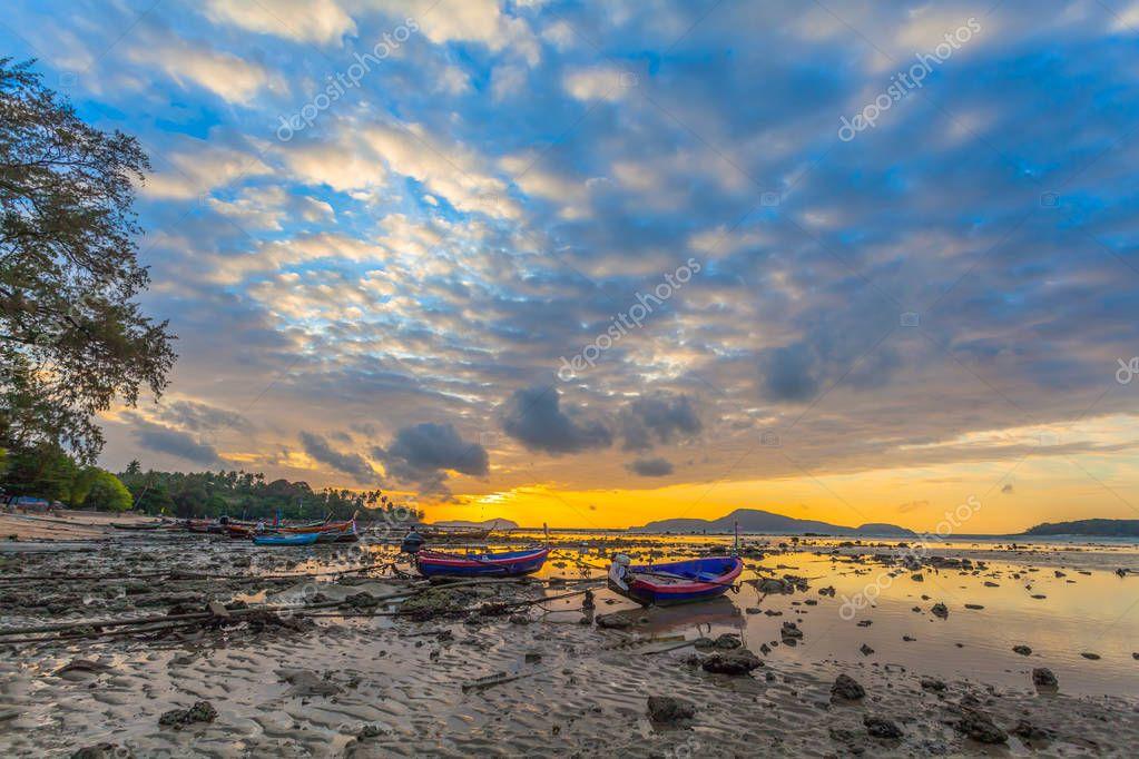 sunrise in Rawai gulf