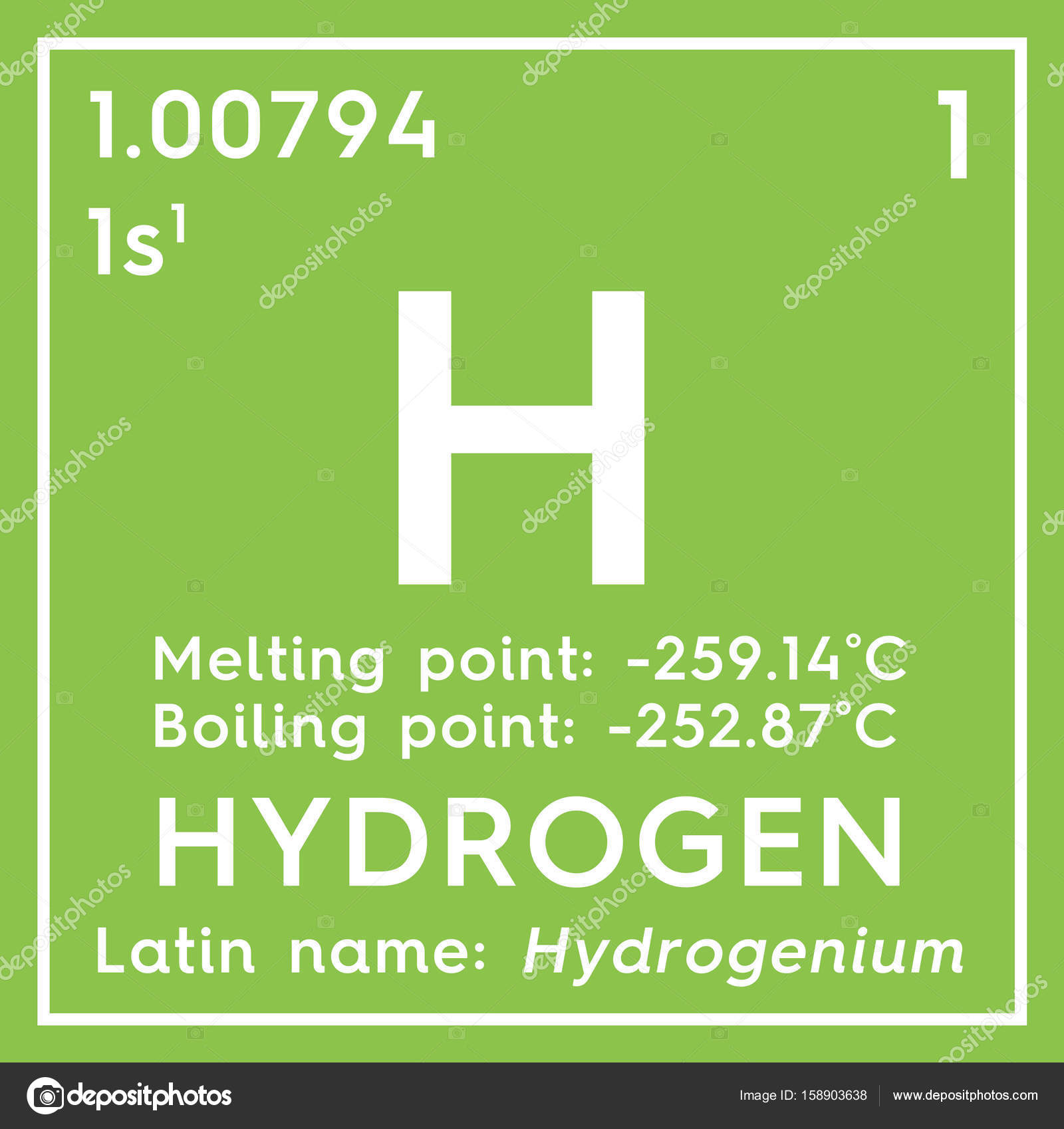 Hydrogen in square cube creative concept stock photo sanches812 chemical element of mendeleevs periodic table hydrogen in square cube creative concept photo by sanches812 urtaz Gallery