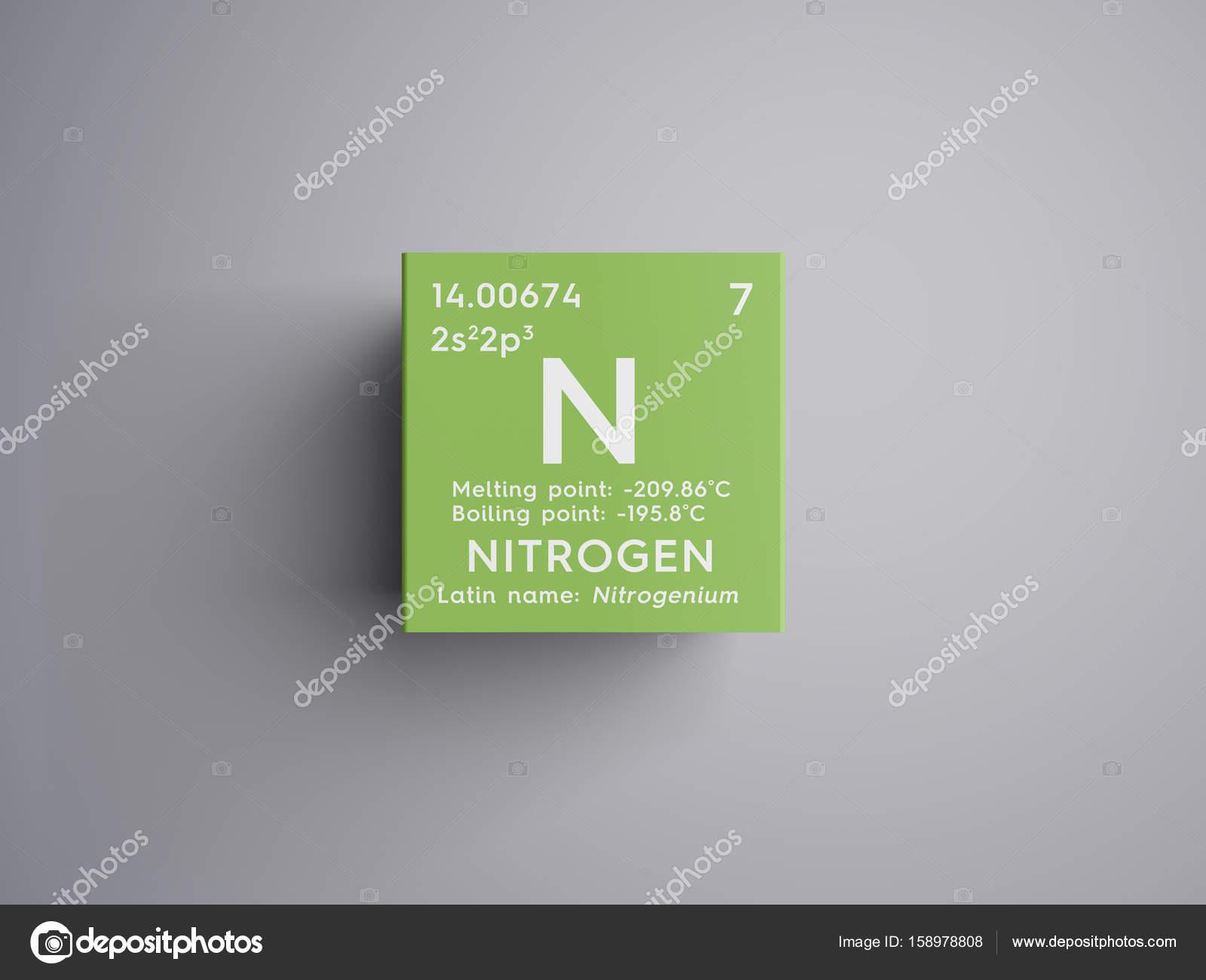 Nitrgeno otros no metales elemento qumico de la tabla de nitrgeno otros no metales elemento qumico de la tabla de periodica de mendeleiev urtaz Choice Image