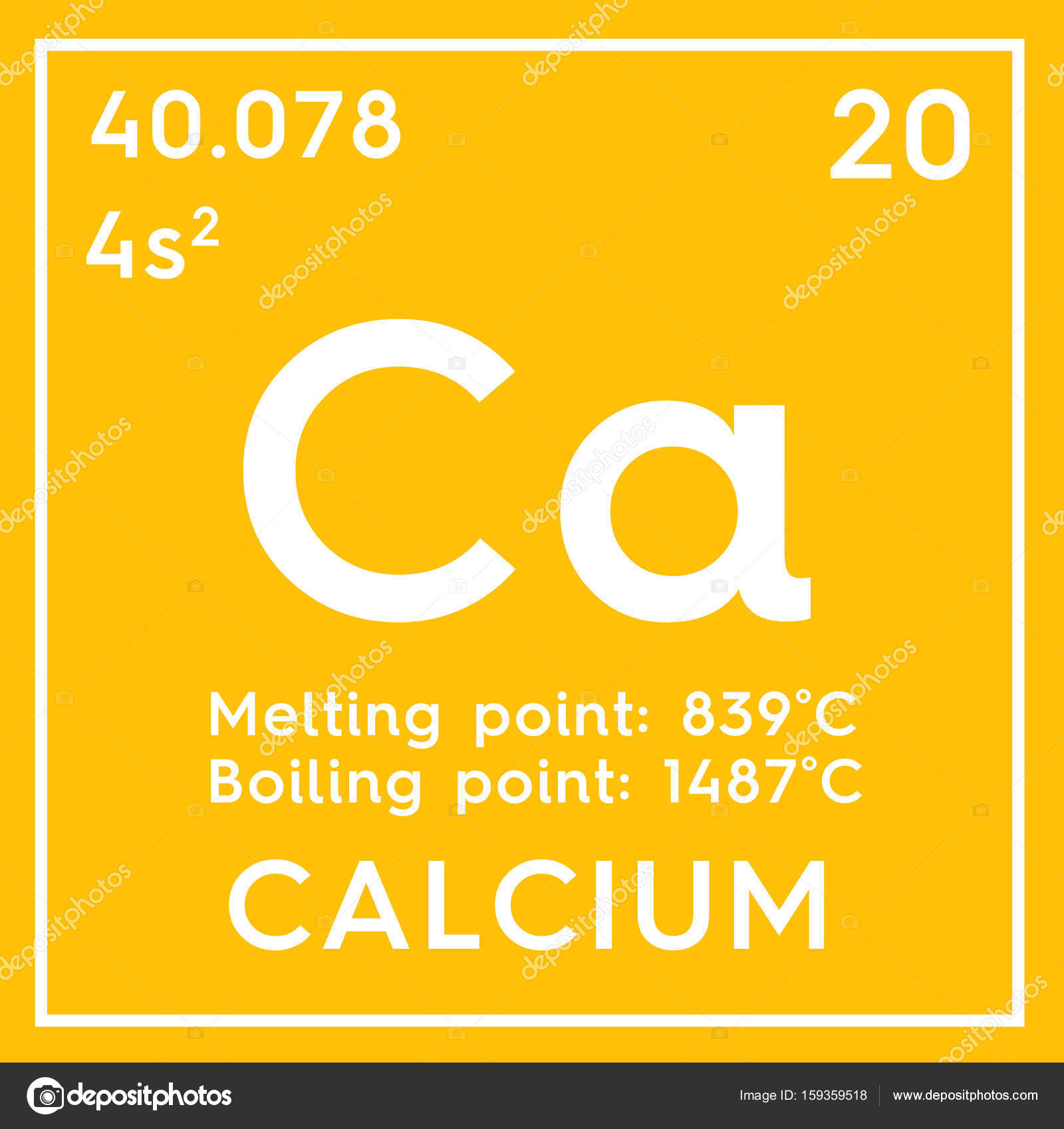 alkaline earth metals chemical element of mendeleevs periodic table calcium in square cube creative concept photo by sanches812