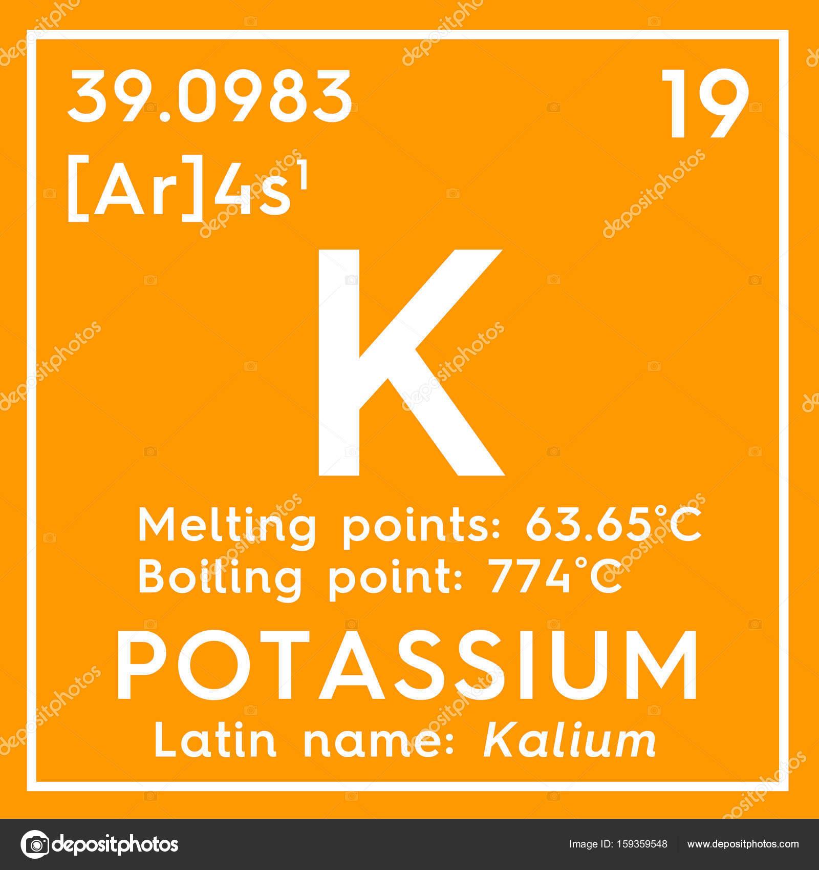 Potassium kalium alkali metals chemical element of mendeleevs alkali metals chemical element of mendeleevs periodic table stock urtaz Image collections
