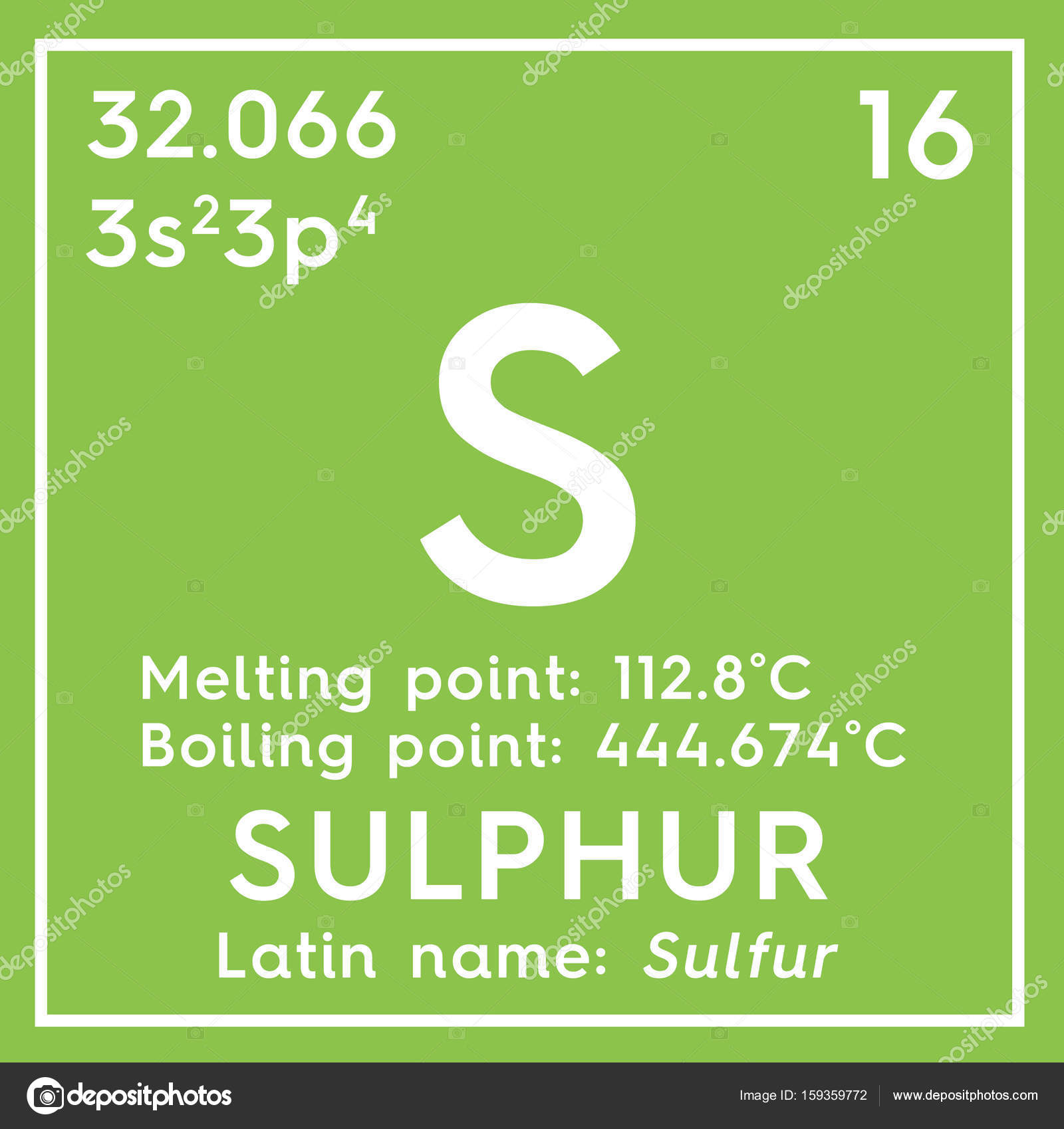 Sulphur sulfur other nonmetals chemical element of mendeleevs other nonmetals chemical element of mendeleevs periodic table stock urtaz Images