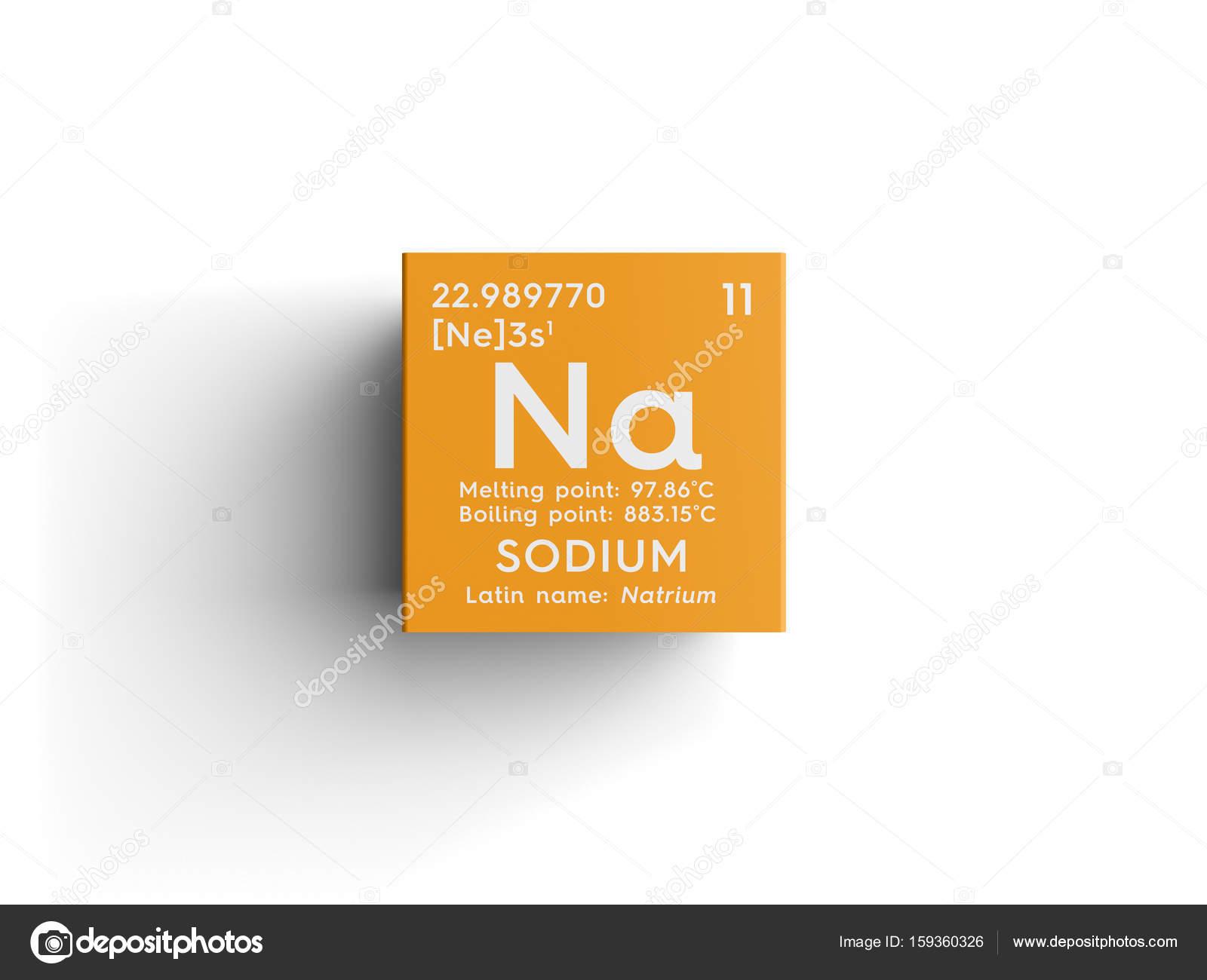 Sodium natrium alkali metals chemical element of mendeleevs sodium natrium alkali metals chemical element of mendeleevs periodic table sodium in square cube creative concept photo by sanches812 biocorpaavc Choice Image