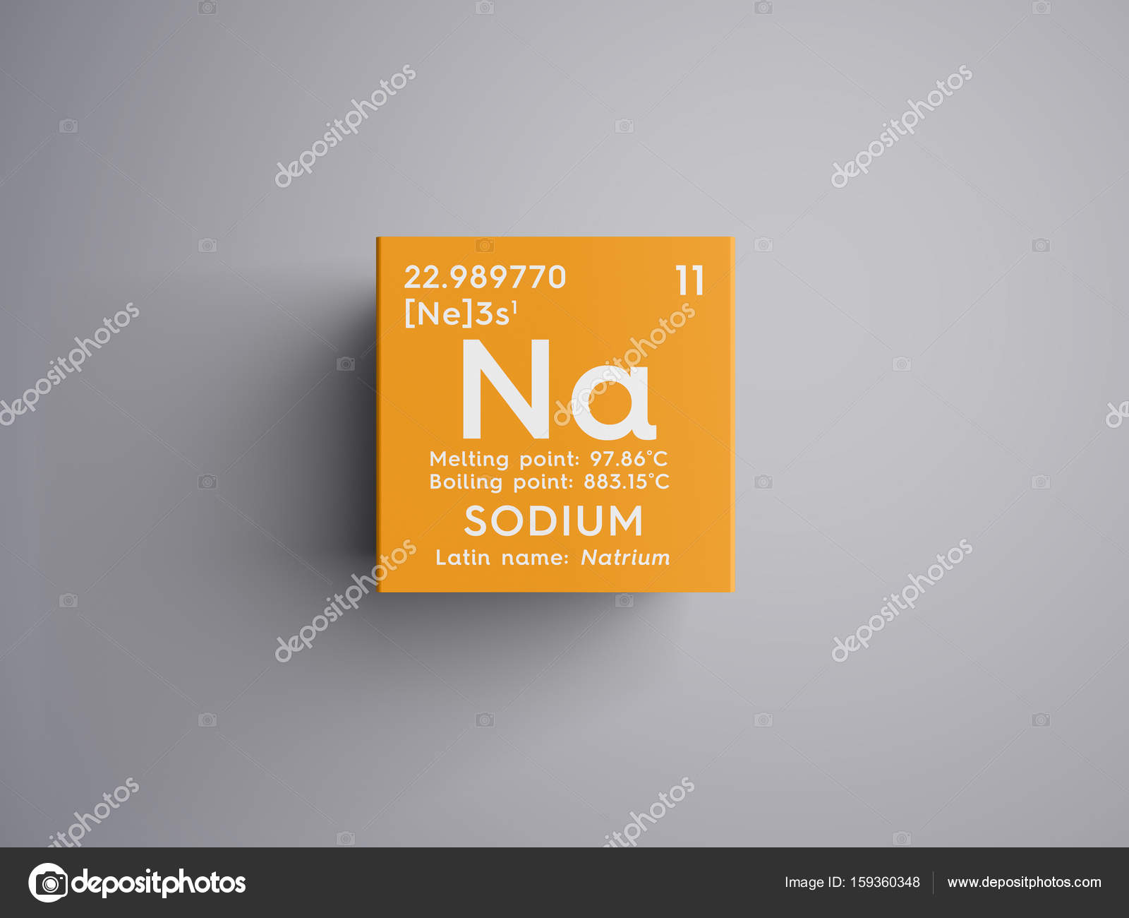 Sodium natrium alkali metals chemical element of mendeleevs chemical element of mendeleevs periodic table stock urtaz Choice Image