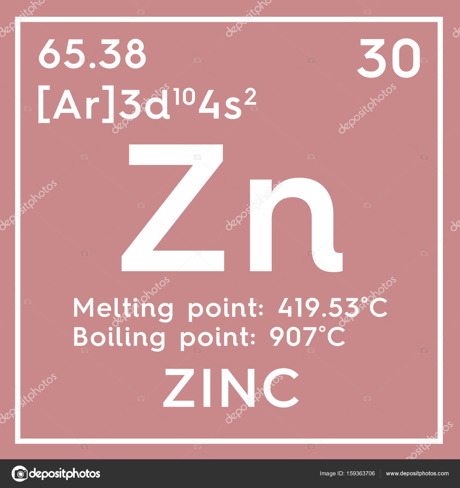Zinc metales de transicin elemento qumico de la tabla de zinc metales de transicin elemento qumico de la tabla de periodica de mendeleiev urtaz Images
