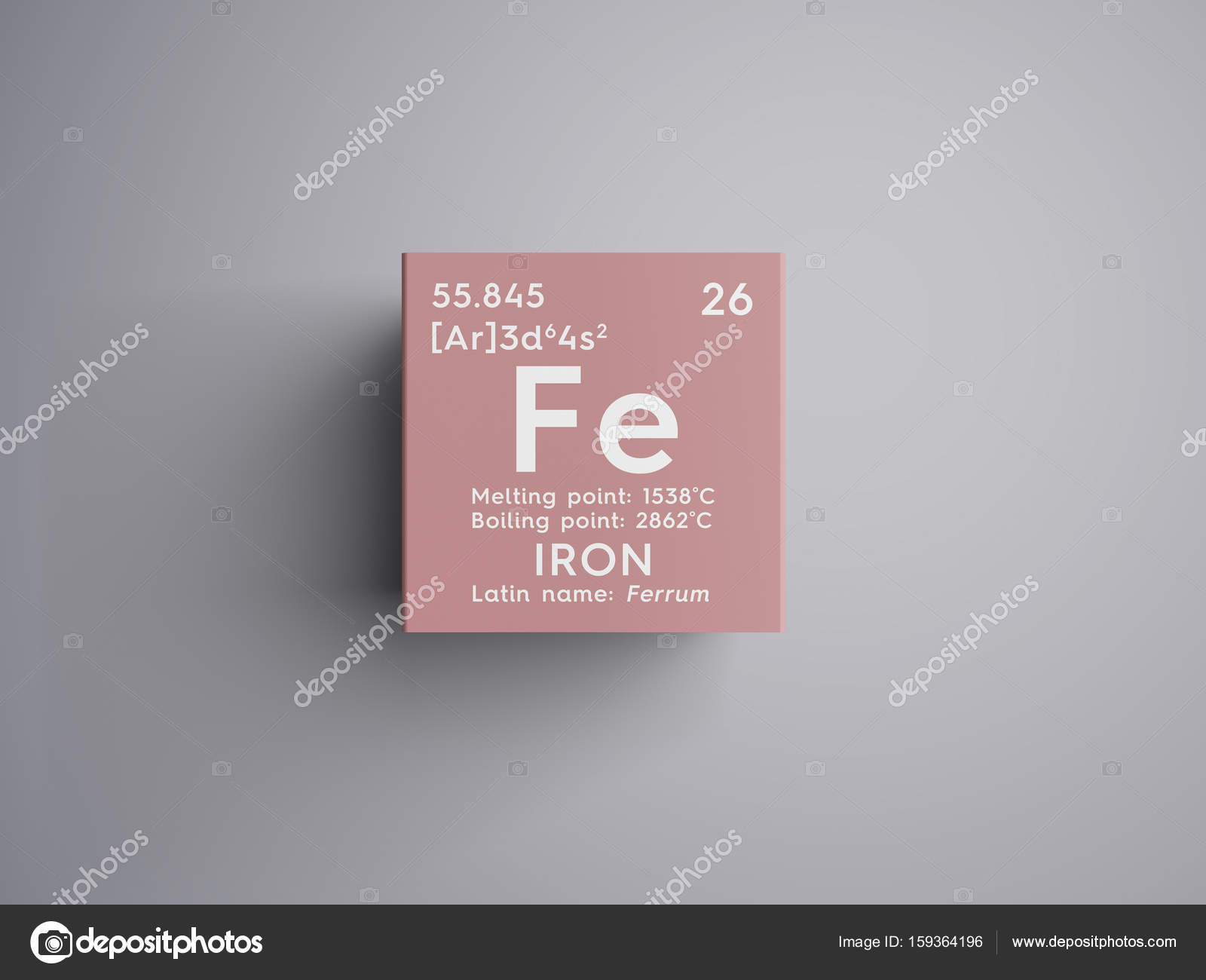 Iron ferrum transition metals chemical element of mendeleevs iron ferrum transition metals chemical element of mendeleevs periodic table iron in square cube creative concept photo by sanches812 gamestrikefo Choice Image