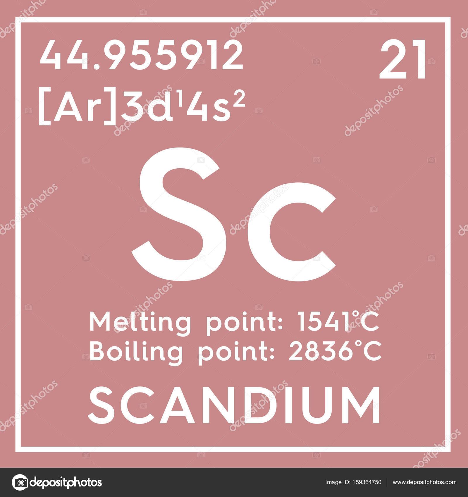 Escandio metales de transicin elemento qumico de la tabla de escandio metales de transicin elemento qumico de la tabla de periodica de mendeleiev urtaz Image collections