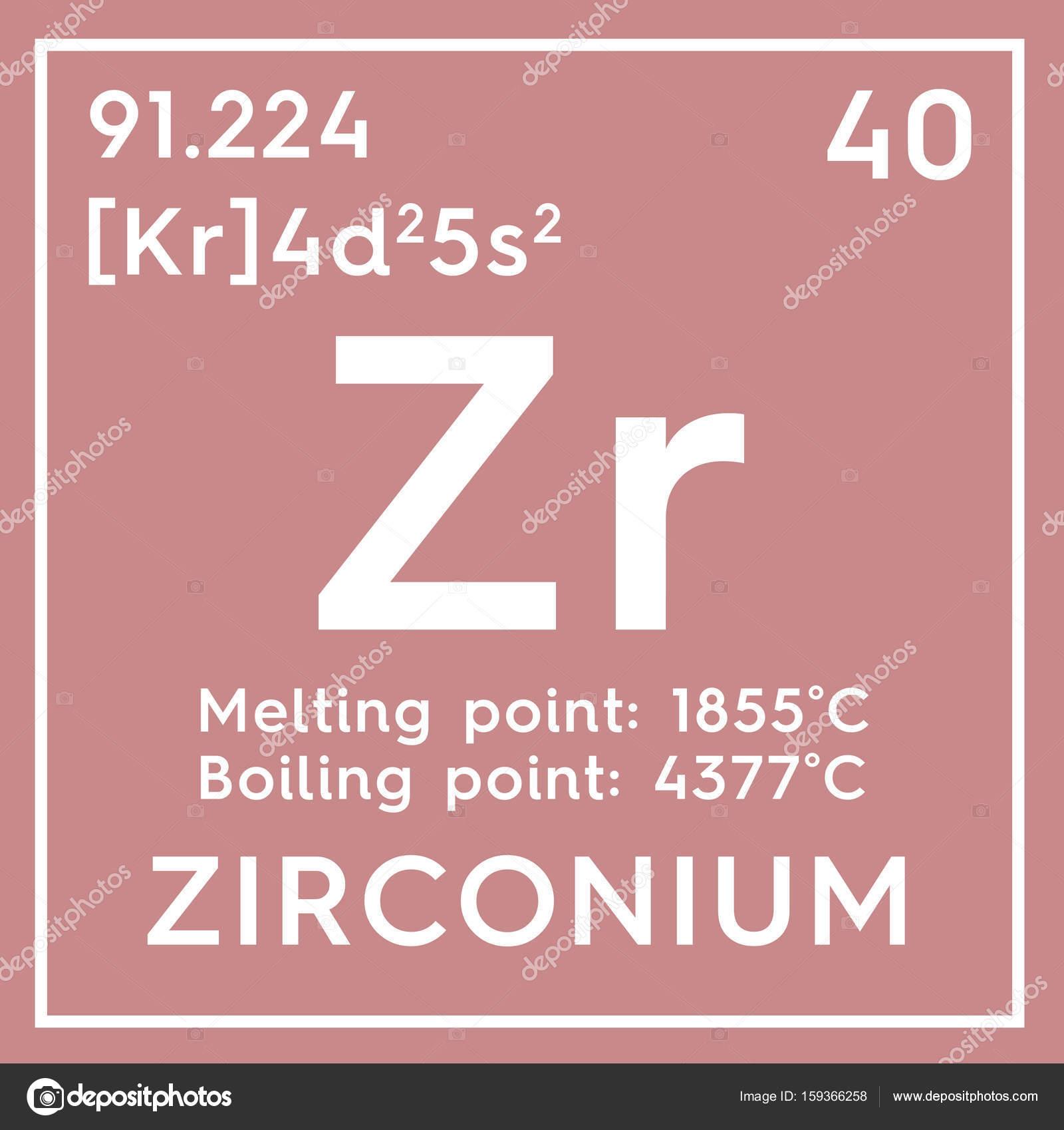 Circonio metales de transicin elemento qumico de la tabla de metales de transicin elemento qumico de la tabla de periodica de mendeleiev urtaz Images