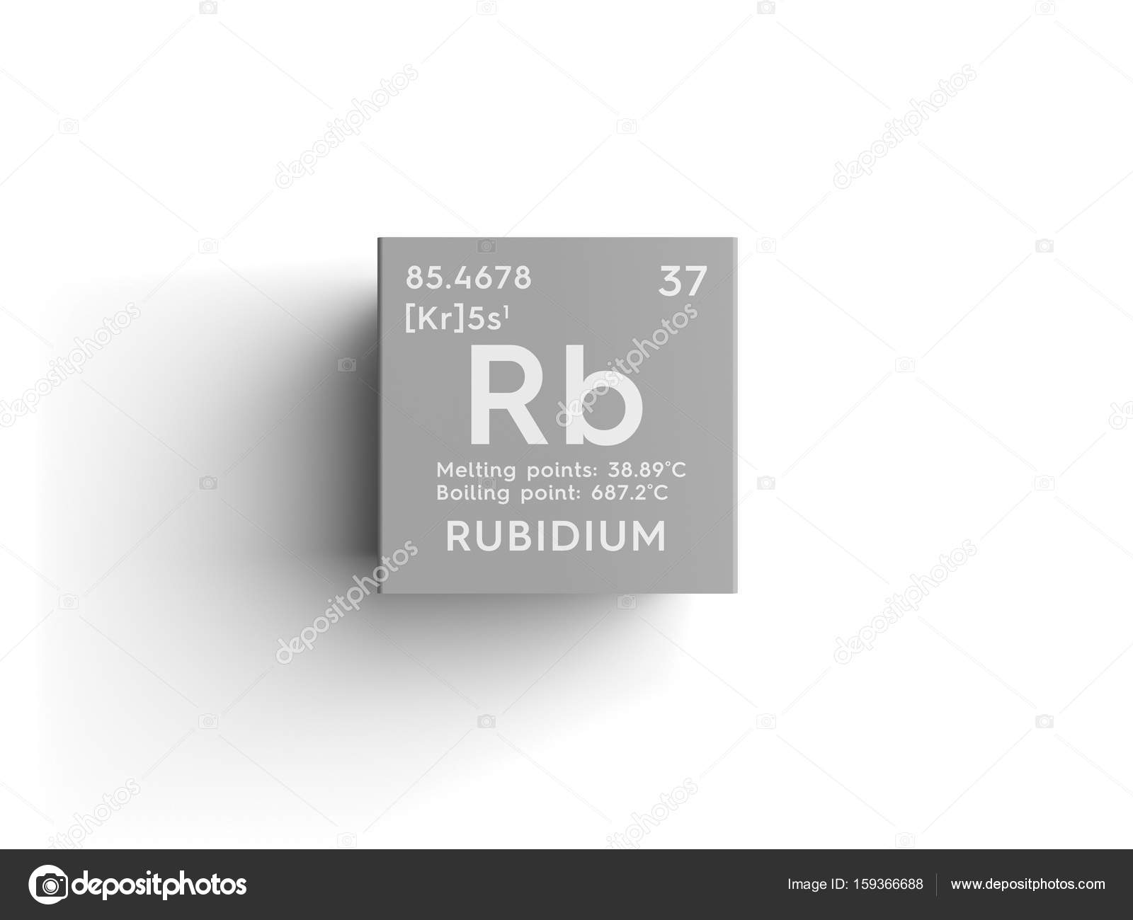 Rubidium alkali metals chemical element of mendeleevs periodic alkali metals chemical element of mendeleevs periodic table stock photo urtaz Gallery