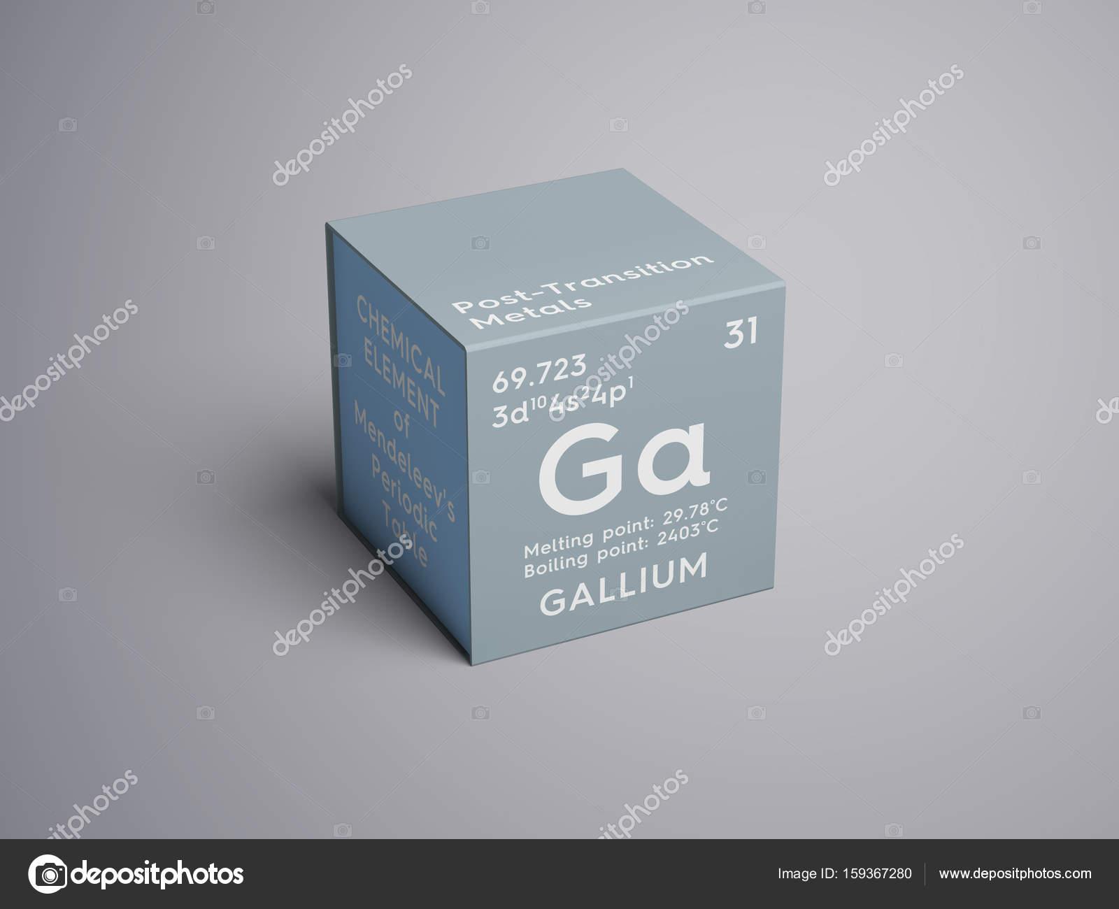 Galio despus de la transicin los metales elemento qumico de la despus de la transicin los metales elemento qumico de la tabla de periodica urtaz Choice Image