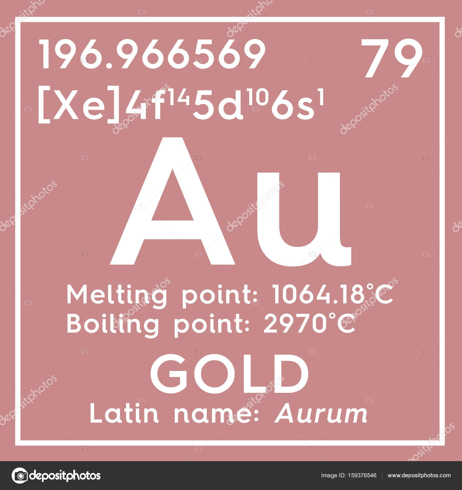 Gold aurum transition metals chemical element of mendeleevs gold aurum transition metals chemical element of mendeleevs periodic table gold in square cube creative concept photo by sanches812 gamestrikefo Images