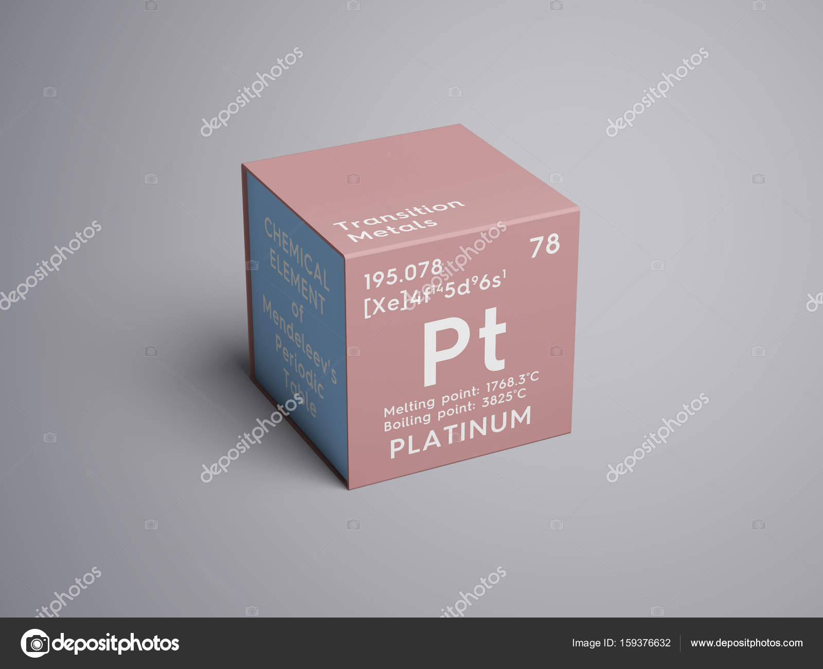 Platinum transition metals chemical element of mendeleevs transition metals chemical element of mendeleevs periodic table stock photo urtaz Image collections