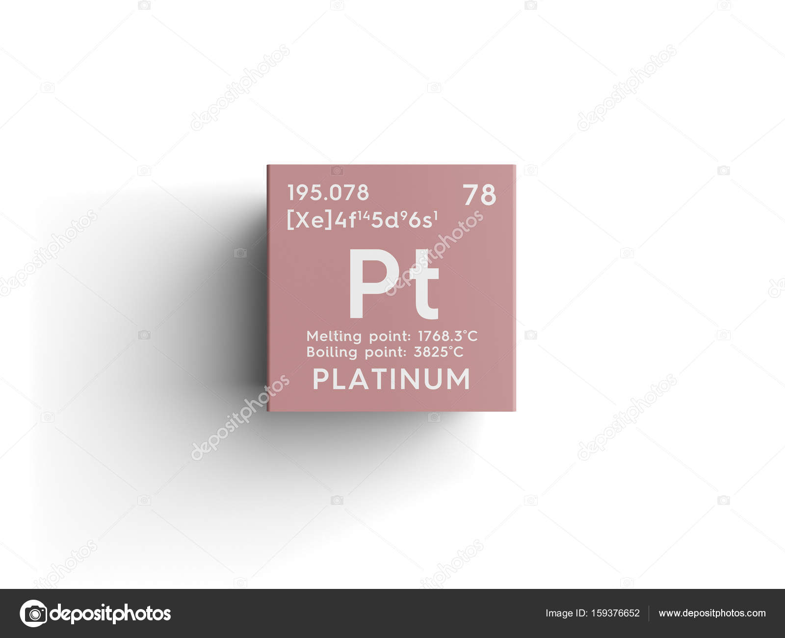 Platinum Transition Metals Chemical Element Of Mendeleev S