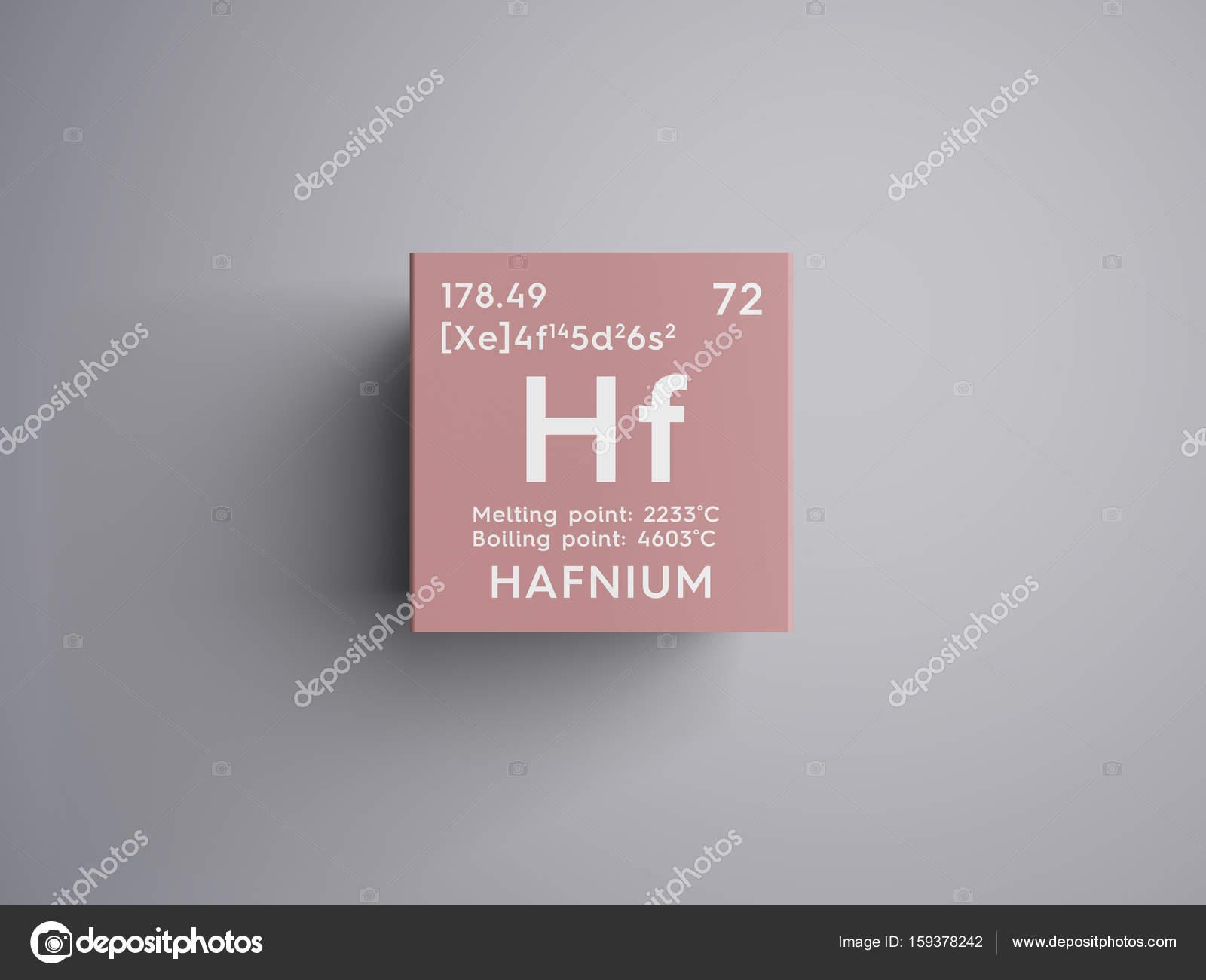 Hafnio metales de transicin elemento qumico de la tabla de metales de transicin elemento qumico de la tabla de periodica de mendeleiev urtaz Choice Image