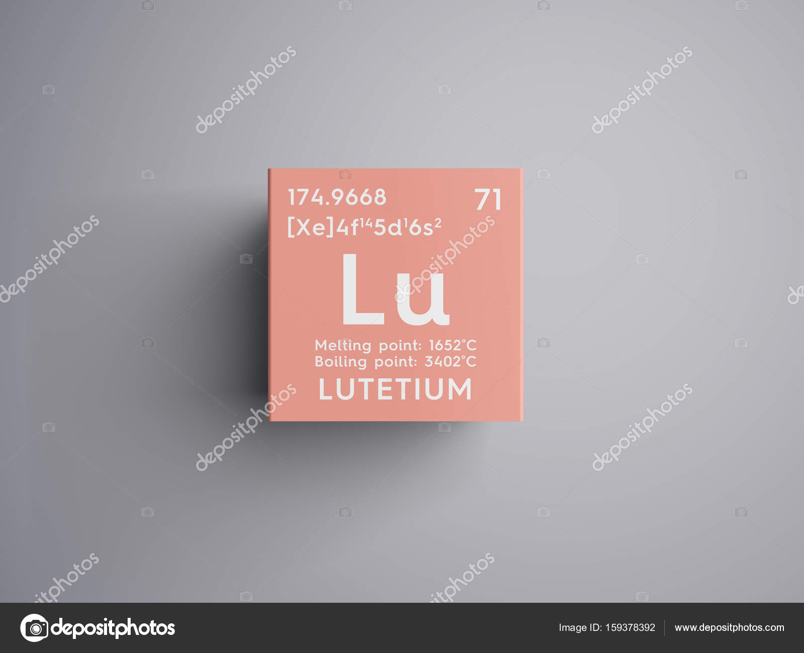Lutetium lanthanoids chemical element of mendeleevs periodic lutetium lanthanoids chemical element of mendeleevs periodic table lutetium in square cube creative concept photo by sanches812 gamestrikefo Images
