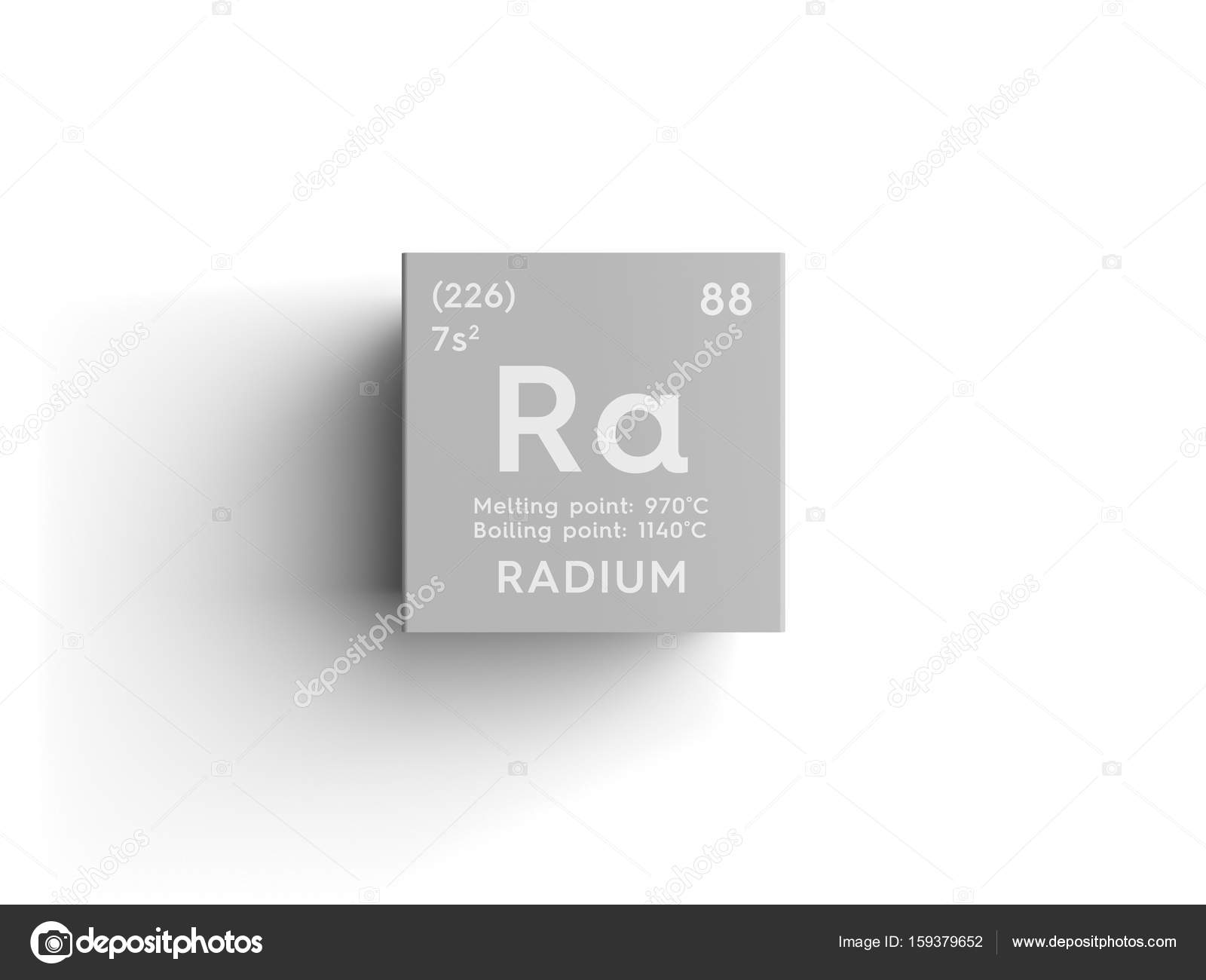 Radium Alkaline Earth Metals Chemical Element Of Mendeleevs