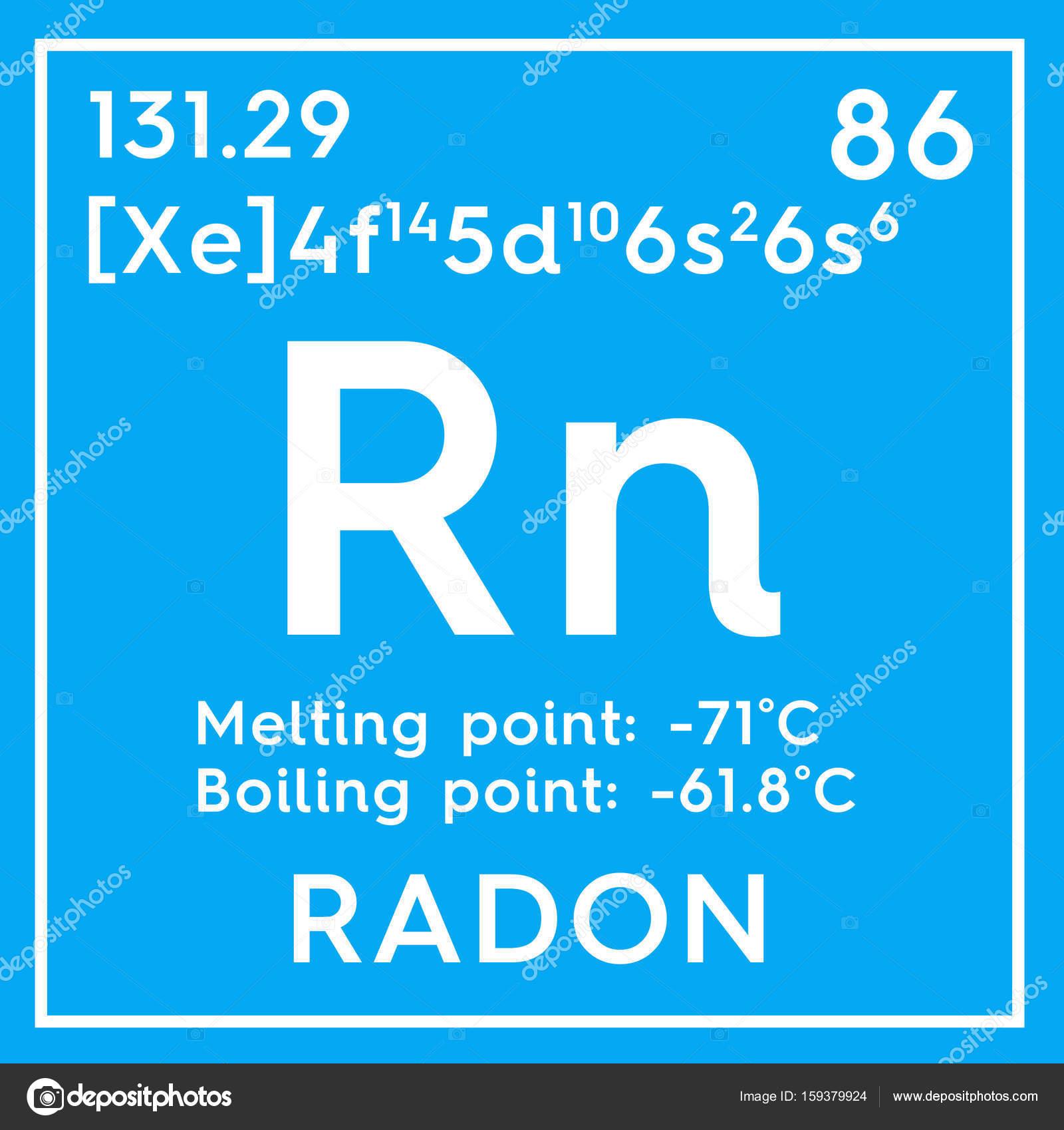 gases nobles elemento qumico de la tabla de periodica de mendeleiev foto