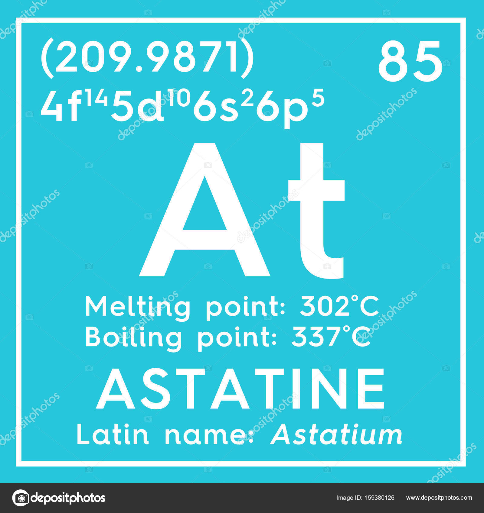 Astatine astatium halogens chemical element of mendeleevs astatine astatium halogens chemical element of mendeleevs periodic table astatine in square cube creative concept photo by sanches812 urtaz Image collections