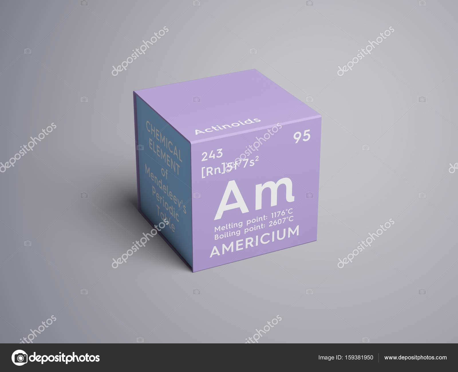 アメリシウム。アクチノイド。メ...
