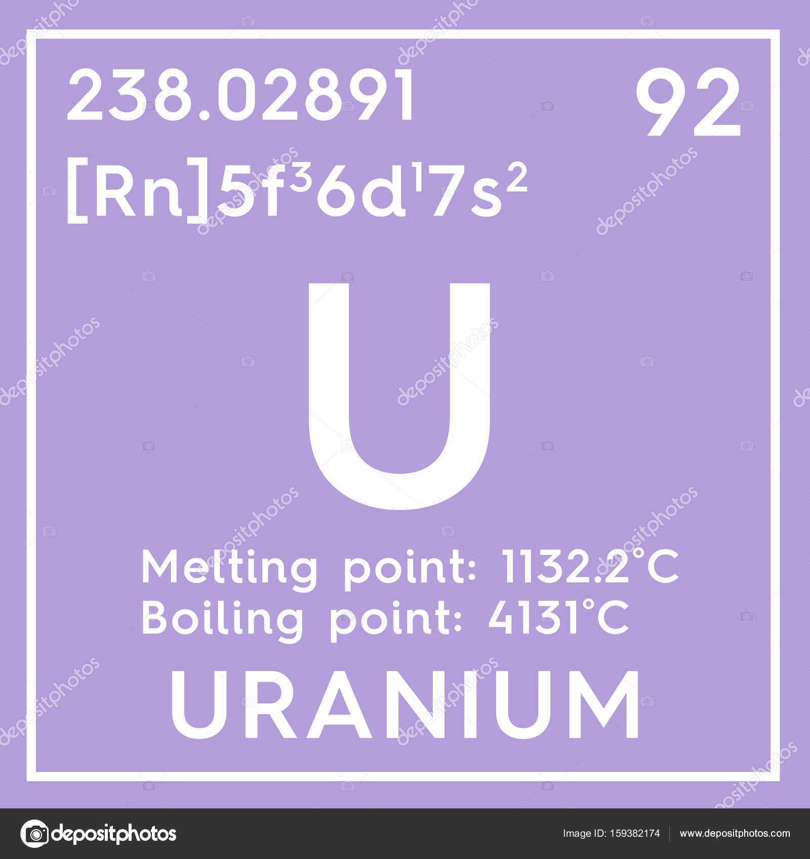 Uranio informacin elemento qumico de la tabla de periodica de uranio informacin elemento qumico de la tabla de periodica de mendeleiev foto de urtaz Images