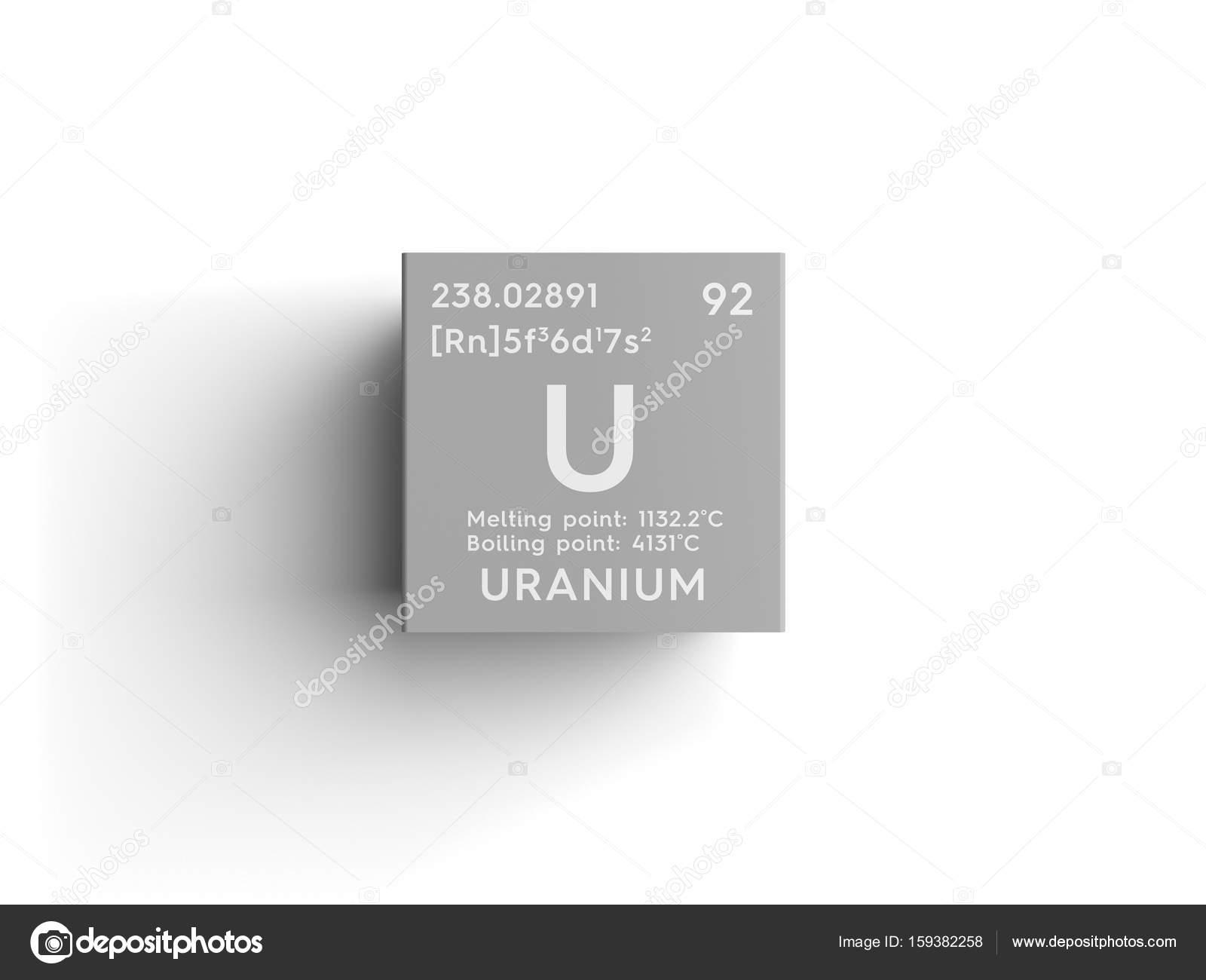 Uranium actinoids chemical element of mendeleevs periodic table uranium actinoids chemical element of mendeleevs periodic table uranium in square cube creative concept photo by sanches812 urtaz Choice Image