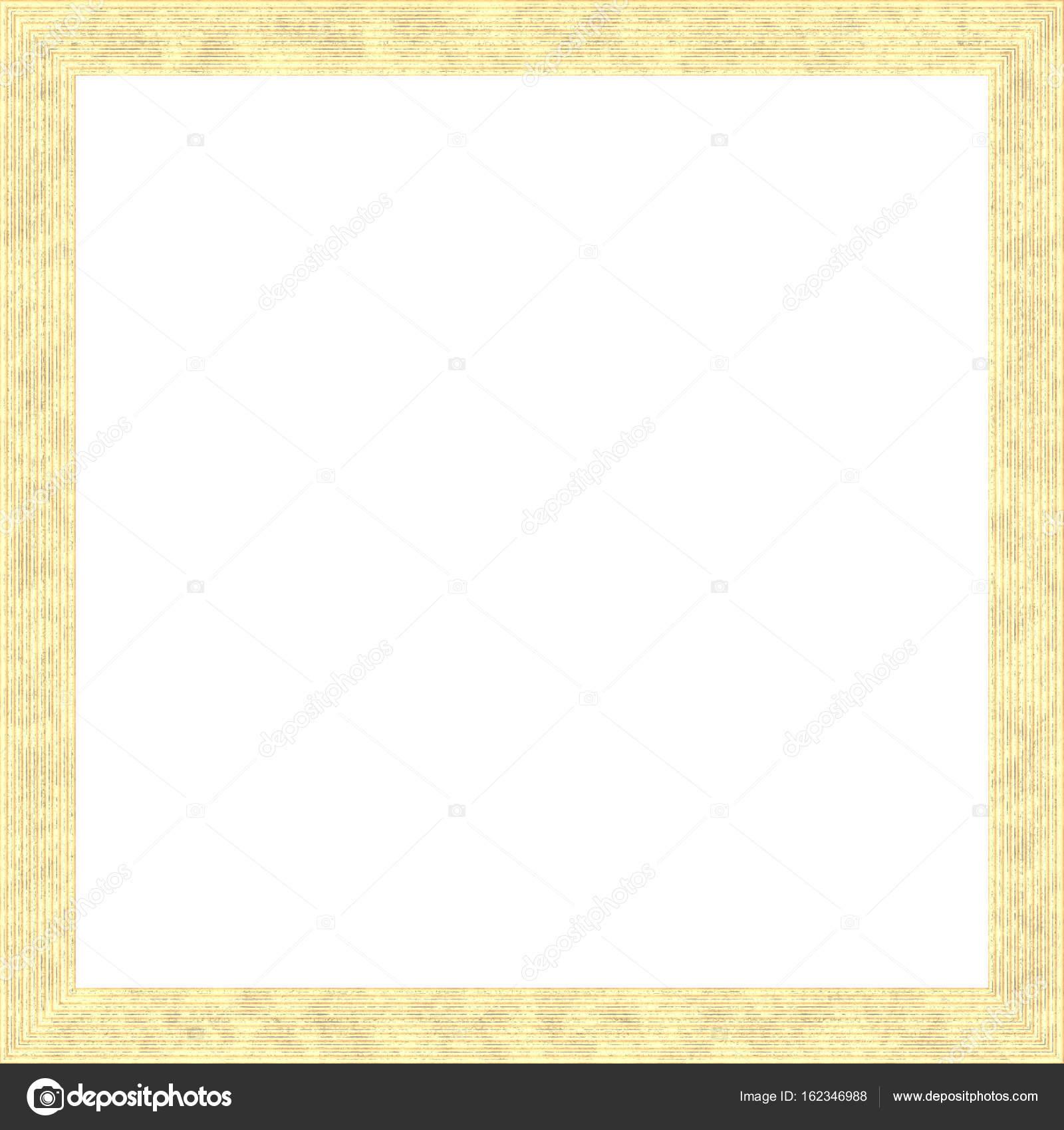 Helles Gelb verwitterte quadratische Holz Bilderrahmen Gemälde Bild ...