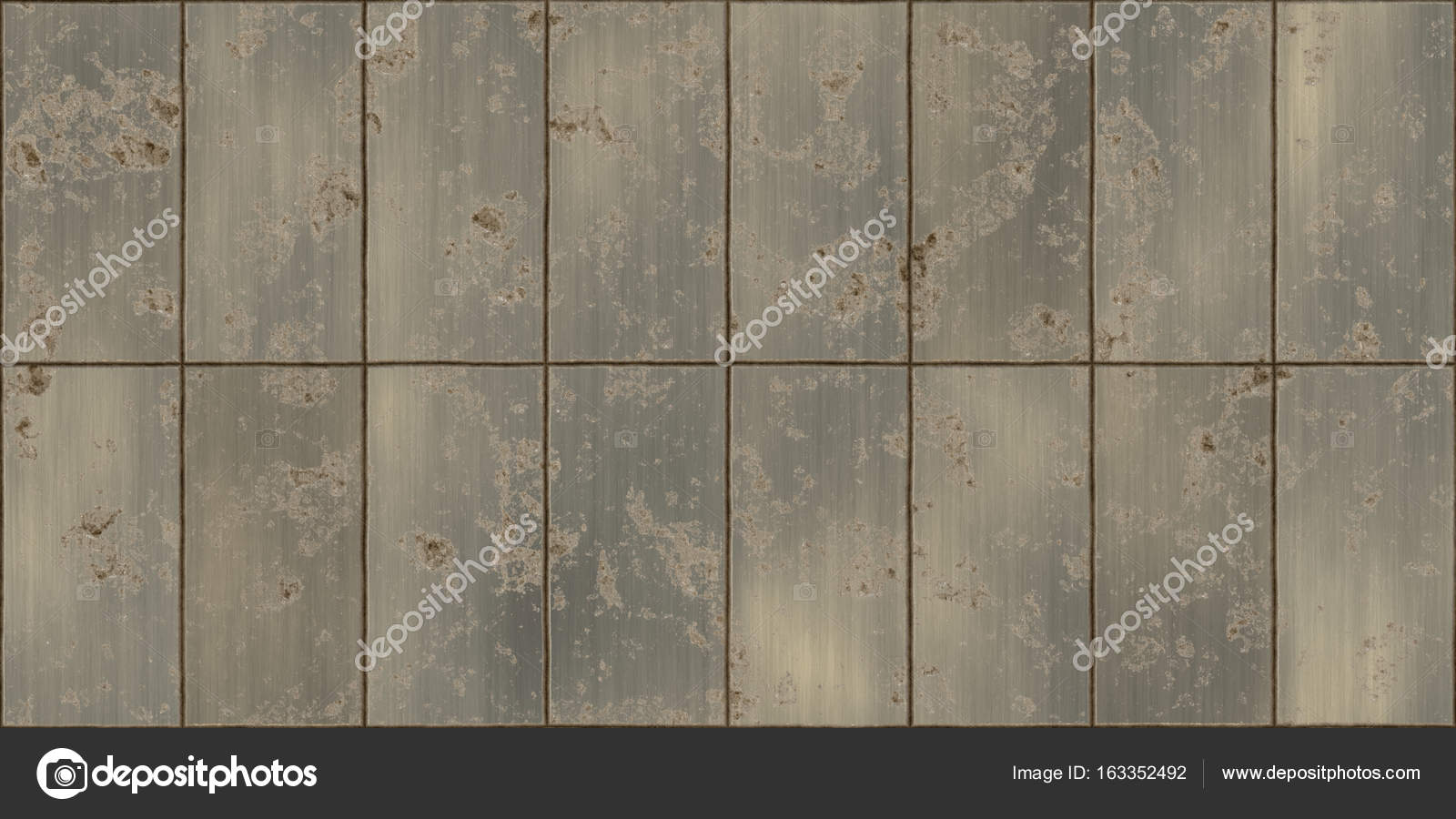 seamless metal wall texture. Dirty Rusty Bronze Metal Tiles Shiny Surface Backgrounds. Metallic Panels Seamless Texture. \u2014 Photo By Sanches812 Wall Texture T