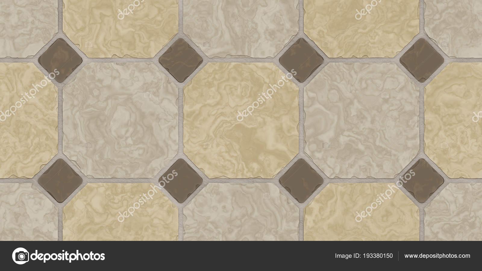 Beige Brown Seamless Classic Floor Tile Texture Simple Kitchen