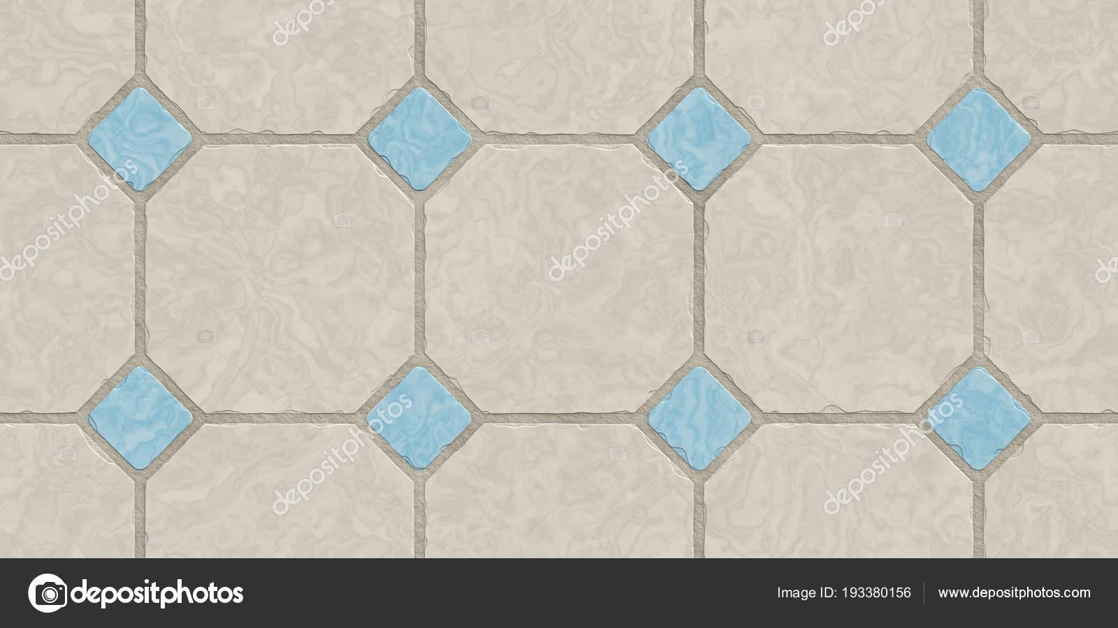 Keuken Beige Tegels : Beige blauw naadloze klassieke vloer tegel textuur mozaïek tegels