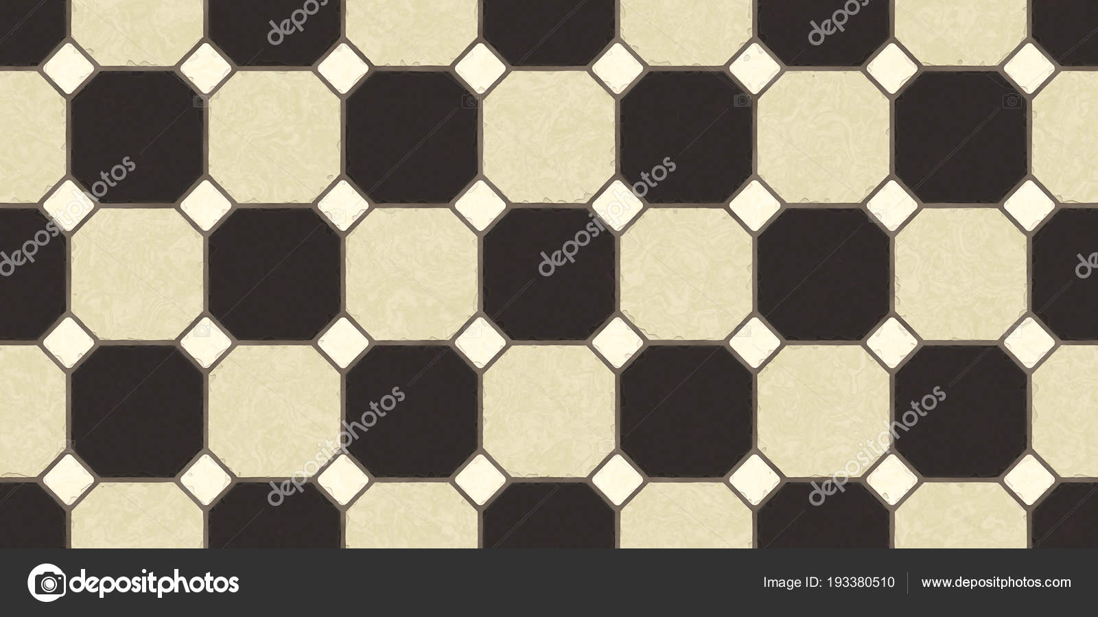 Strong Brown Beige Seamless Classic Floor Tile Texture