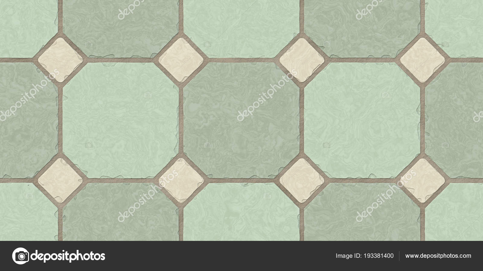Pistache beige naadloze klassieke vloer tegel textuur. mozaïek
