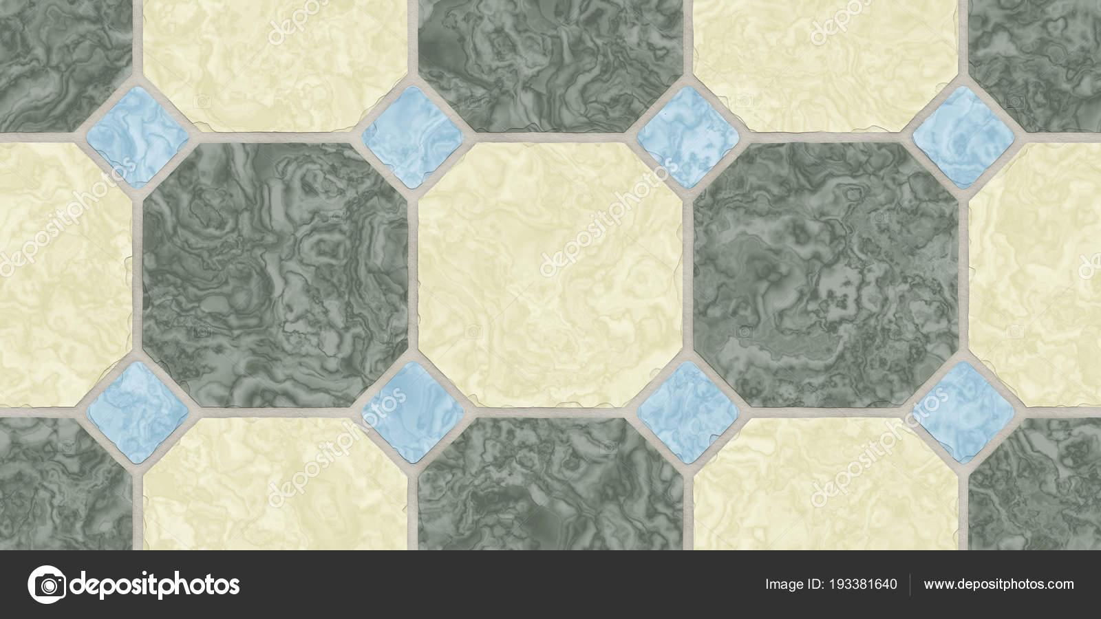 Beige Bogie Green Blue Seamless Classic Floor Tile Texture Simple
