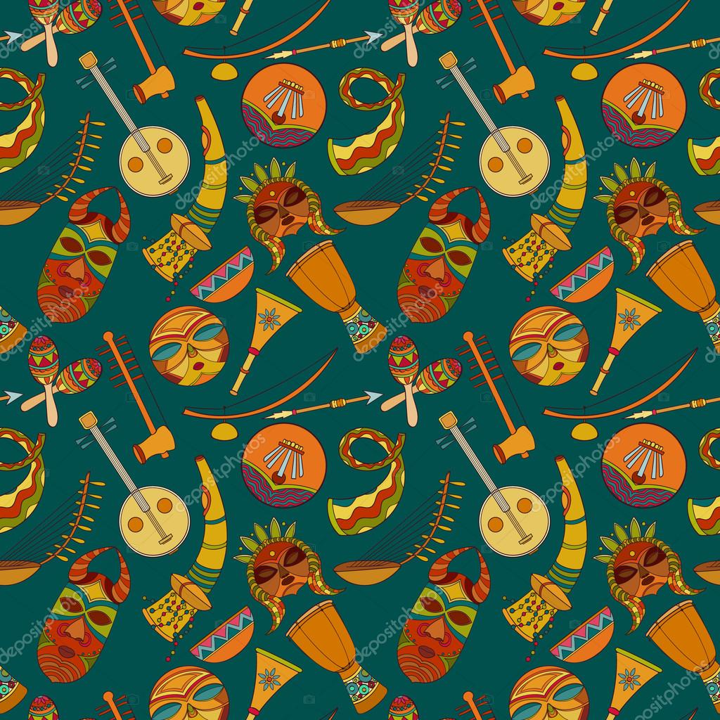 Great Wallpaper Music Pattern - depositphotos_126422044-stock-illustration-hand-drawn-seamless-african-music  Pic_129543.jpg