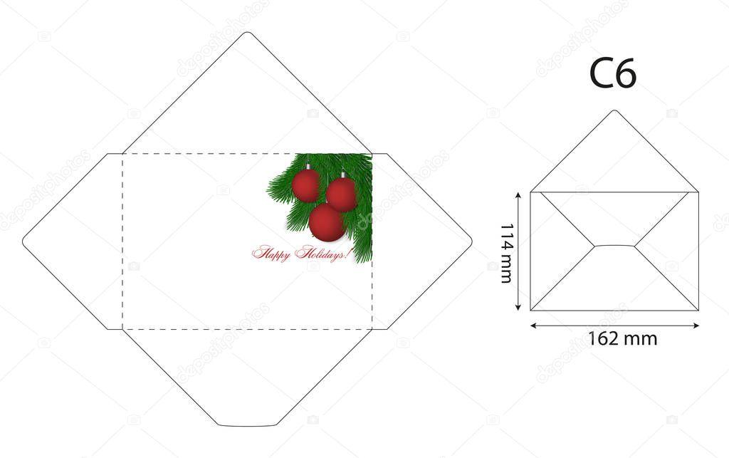 Berühmt Vektor Umschlag Vorlage Galerie - Beispiel Anschreiben für ...