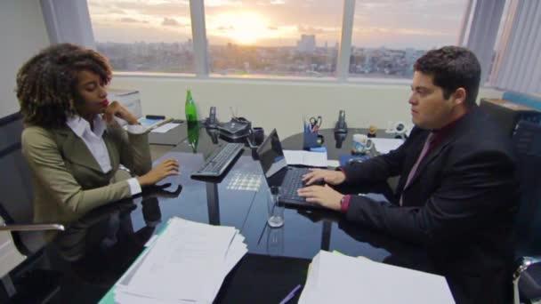 Businessman Boss Job Interview