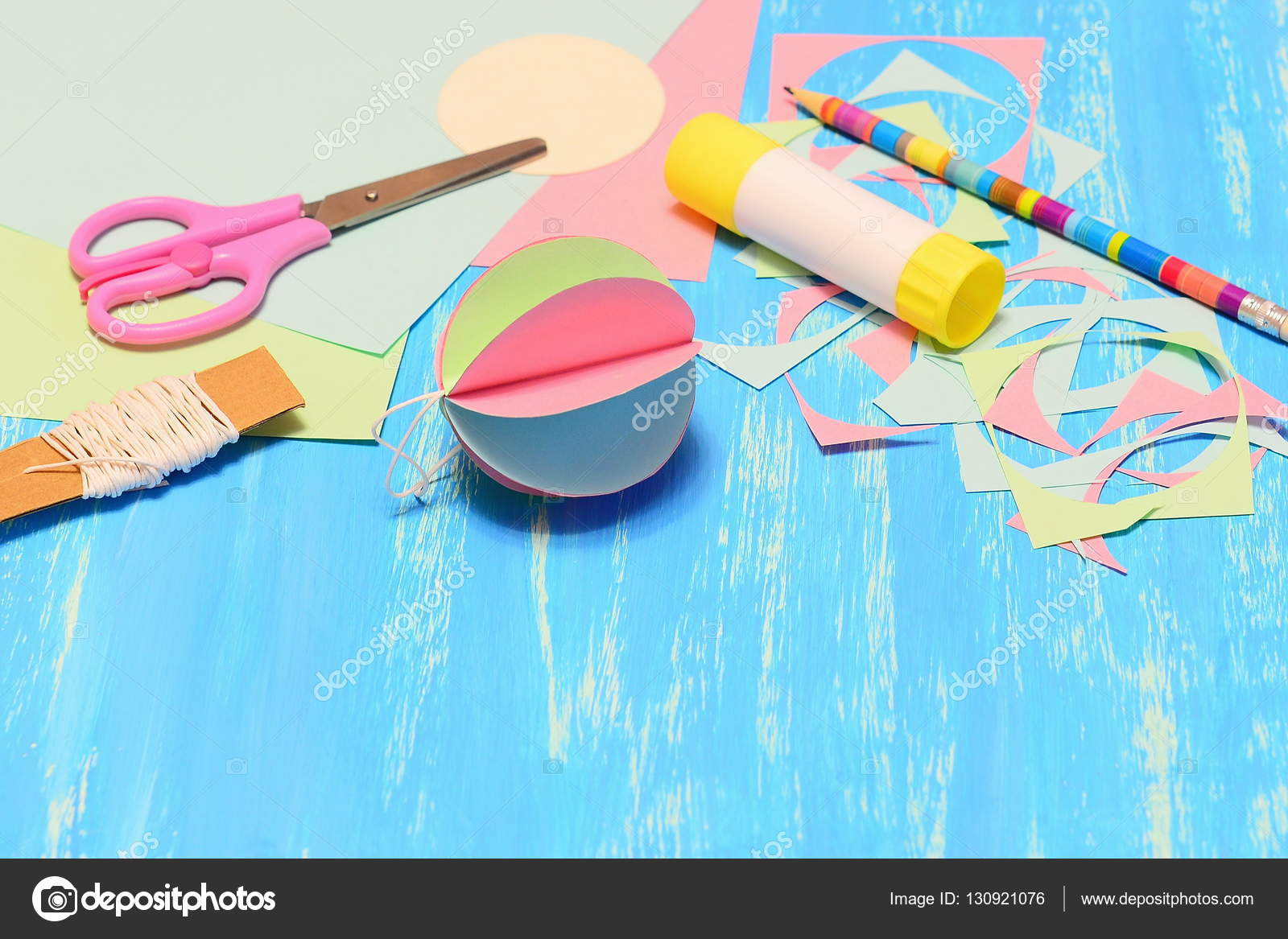 Dibujos Coloridos Faciles De Hacer Colgante Brillante Arbol De