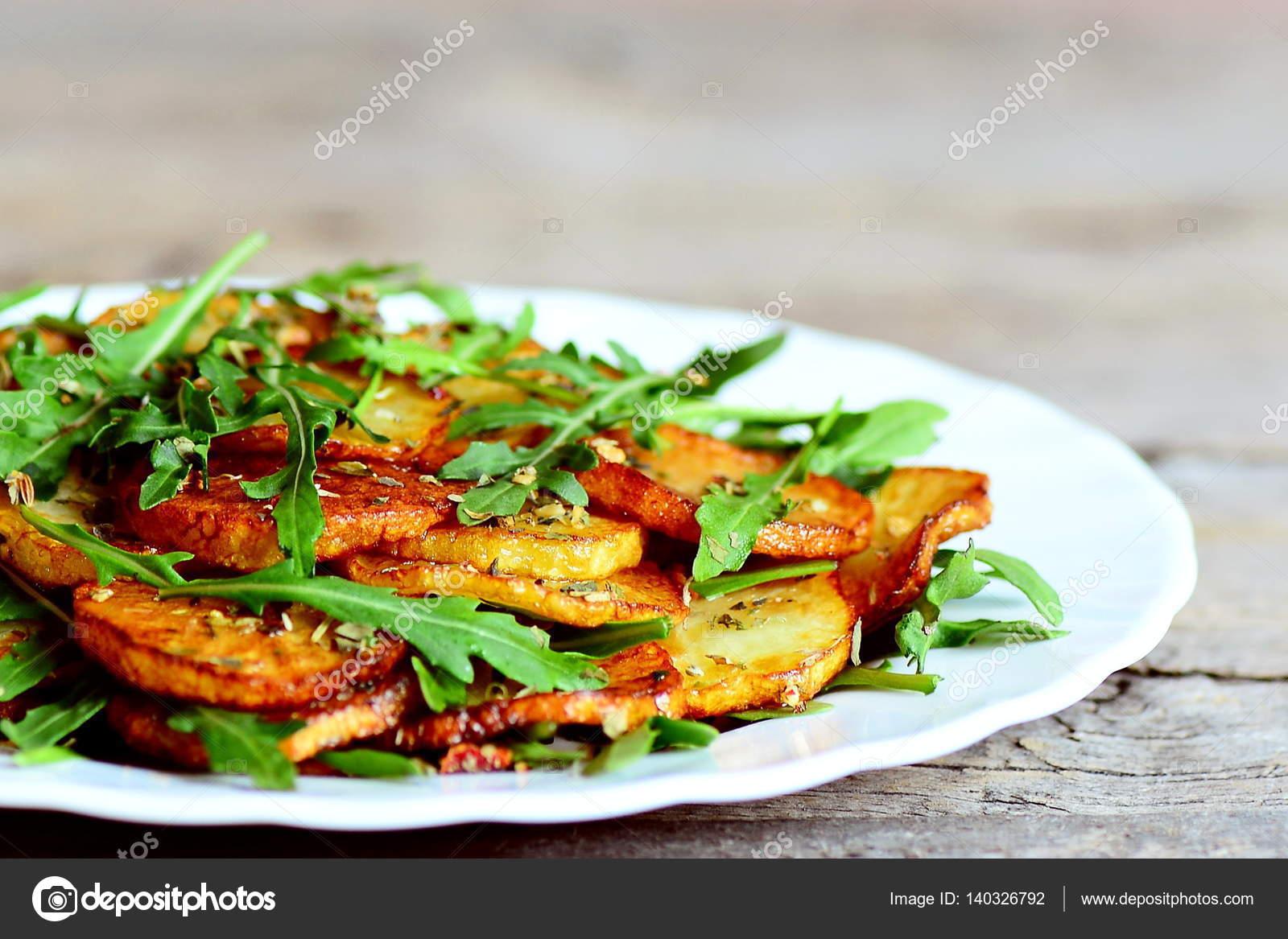 Рецепты теплого салата овощного