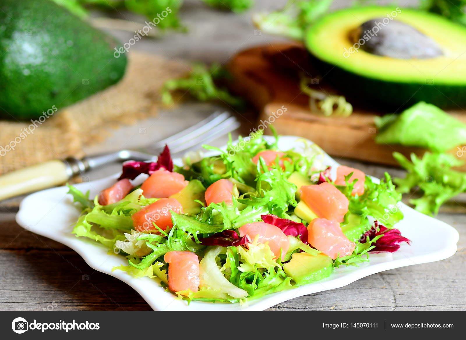 Somonlu Salata Tarifi