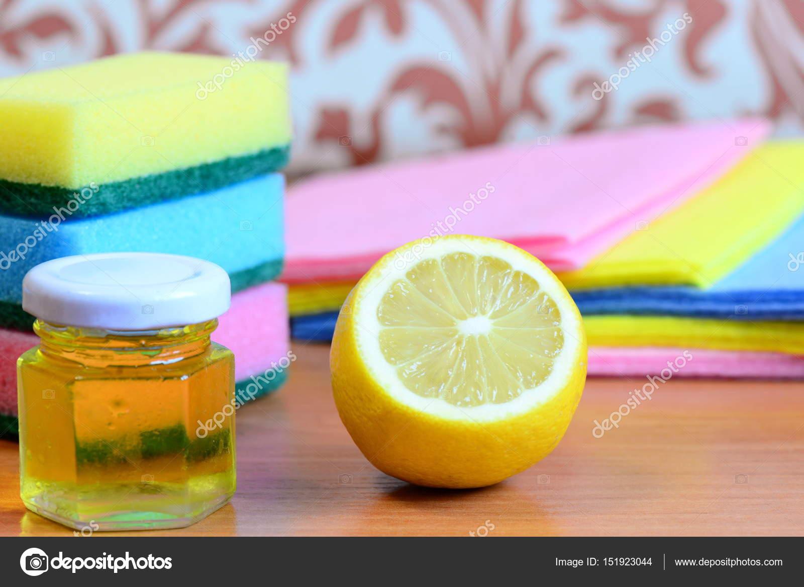 Limon İle Ev Temizliği