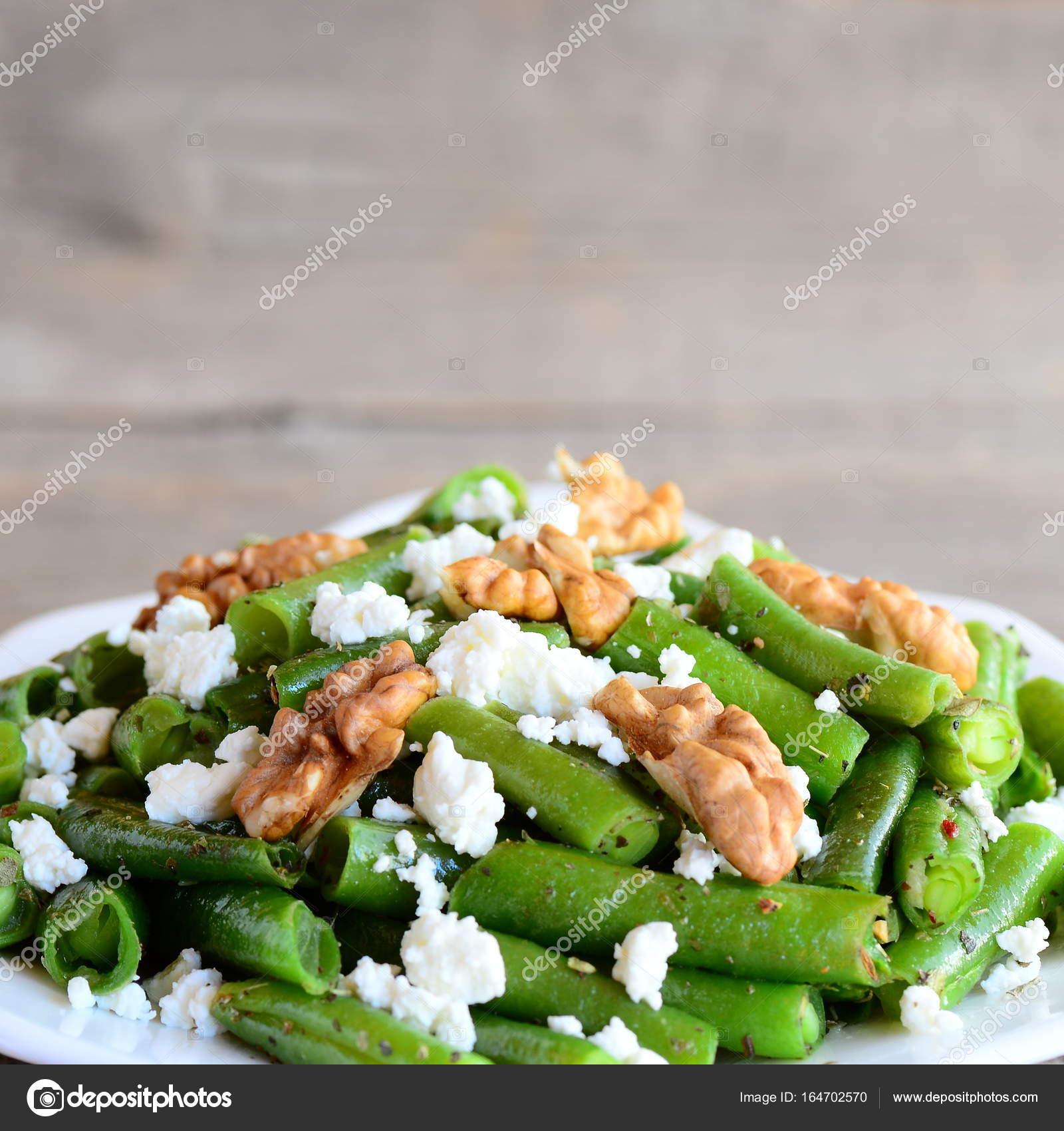 gröna bönor sallad recept
