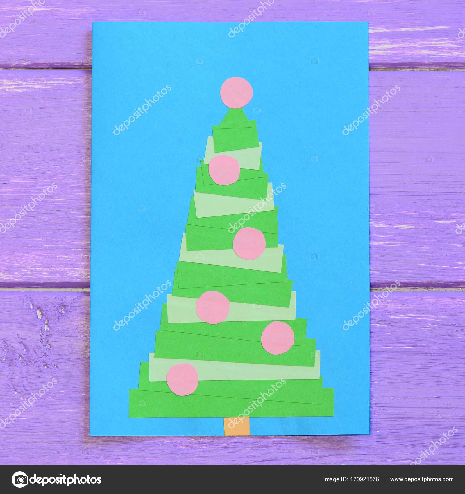 Foto Hacer Felicitacion Navidena Tarjeta De Navidad Aislada - Tarjetas-navideas-para-nios