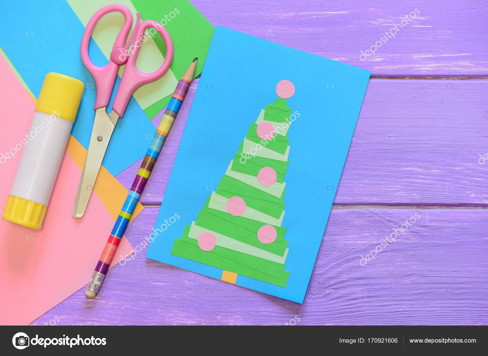 Como hacer una tarjetas de navidad para niРіВ±os