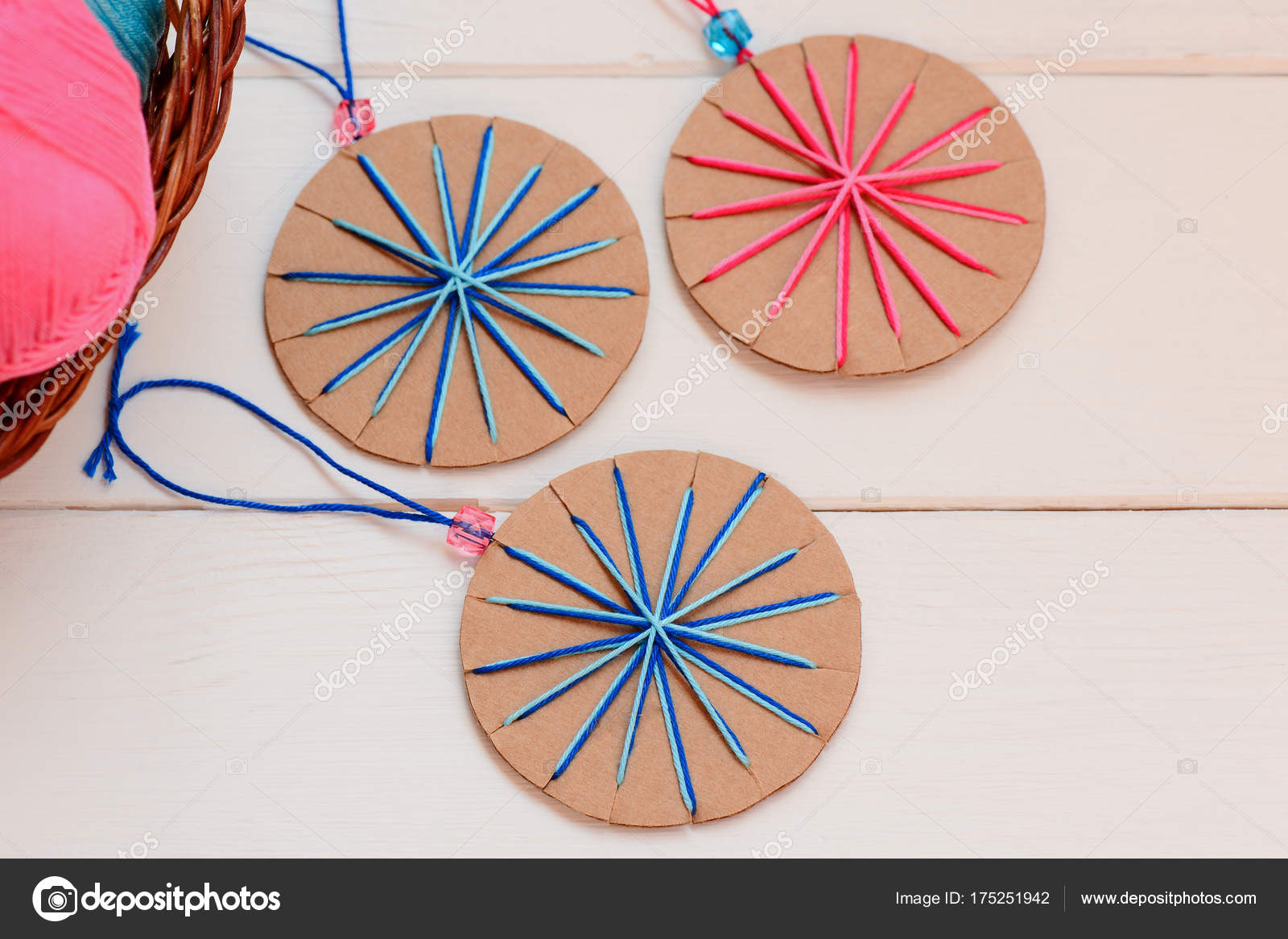Recycled Christmas Ornaments Ideas.Christmas Balls Ornaments Wooden Table Creative Christmas