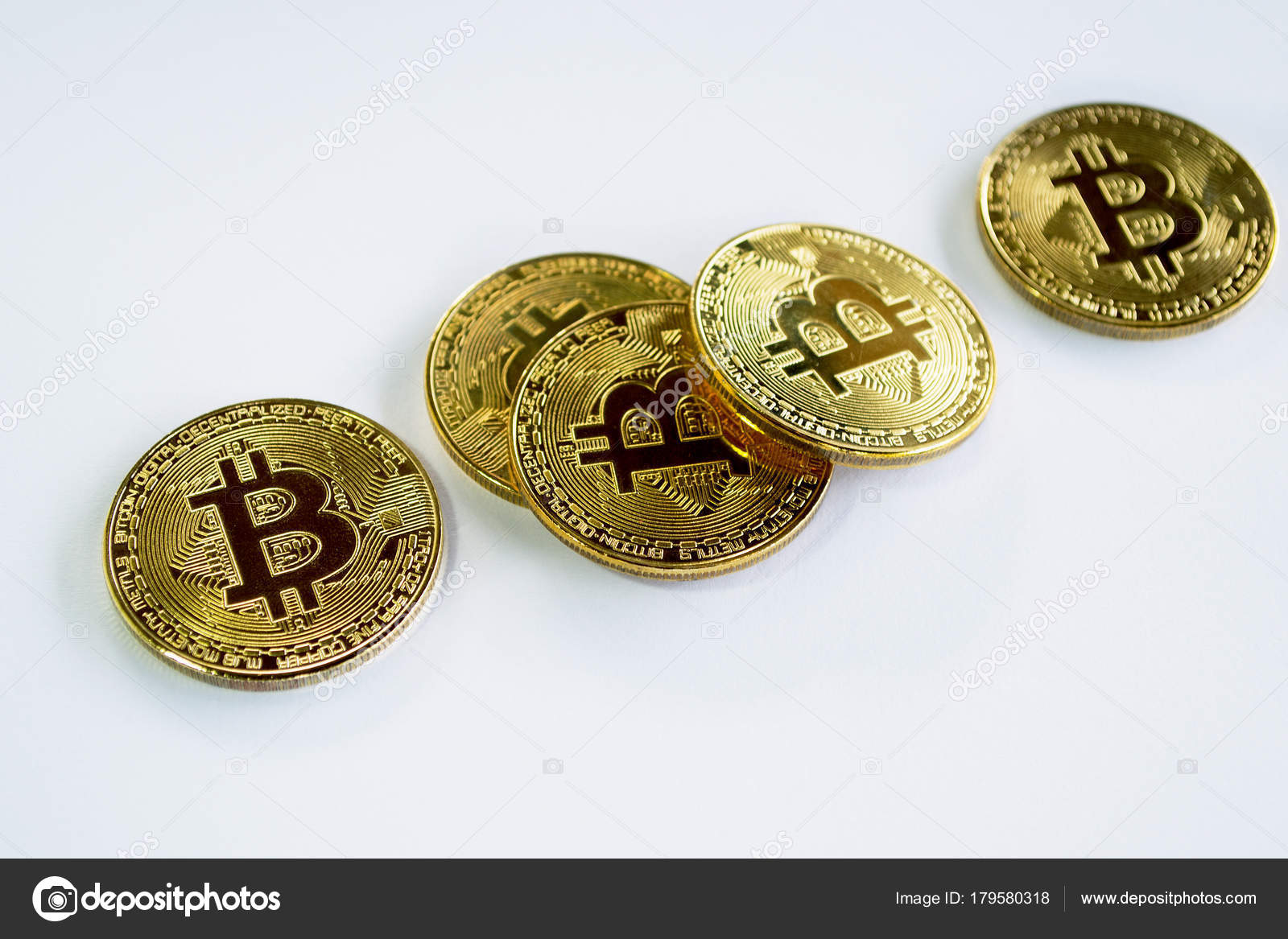 bitcoin gold color white background cryptocurrency background stock editorial photo c edi2puris 179580318 https depositphotos com 179580318 stock photo bitcoin gold color white background html
