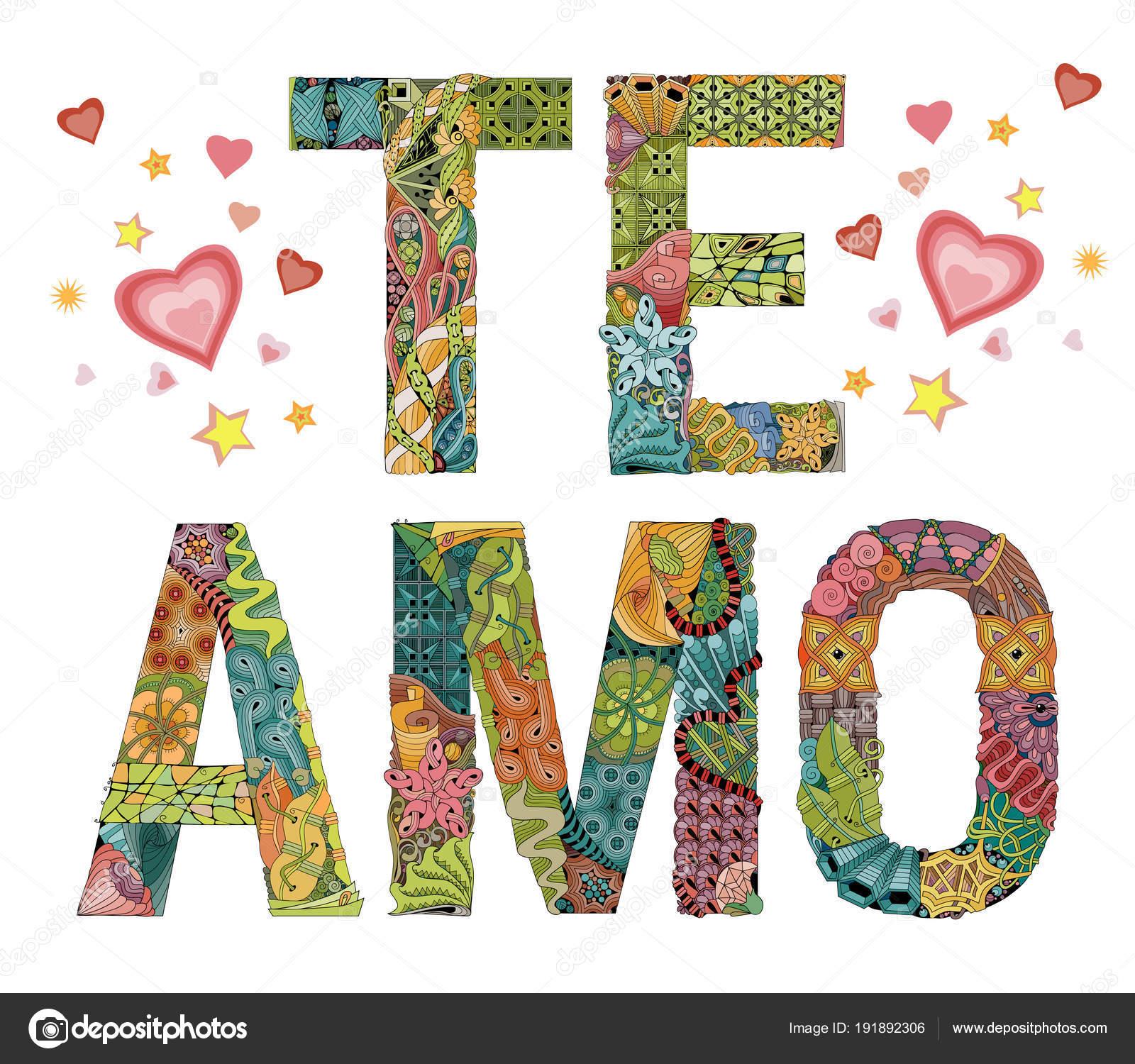 i love you in spanish - 1000×955